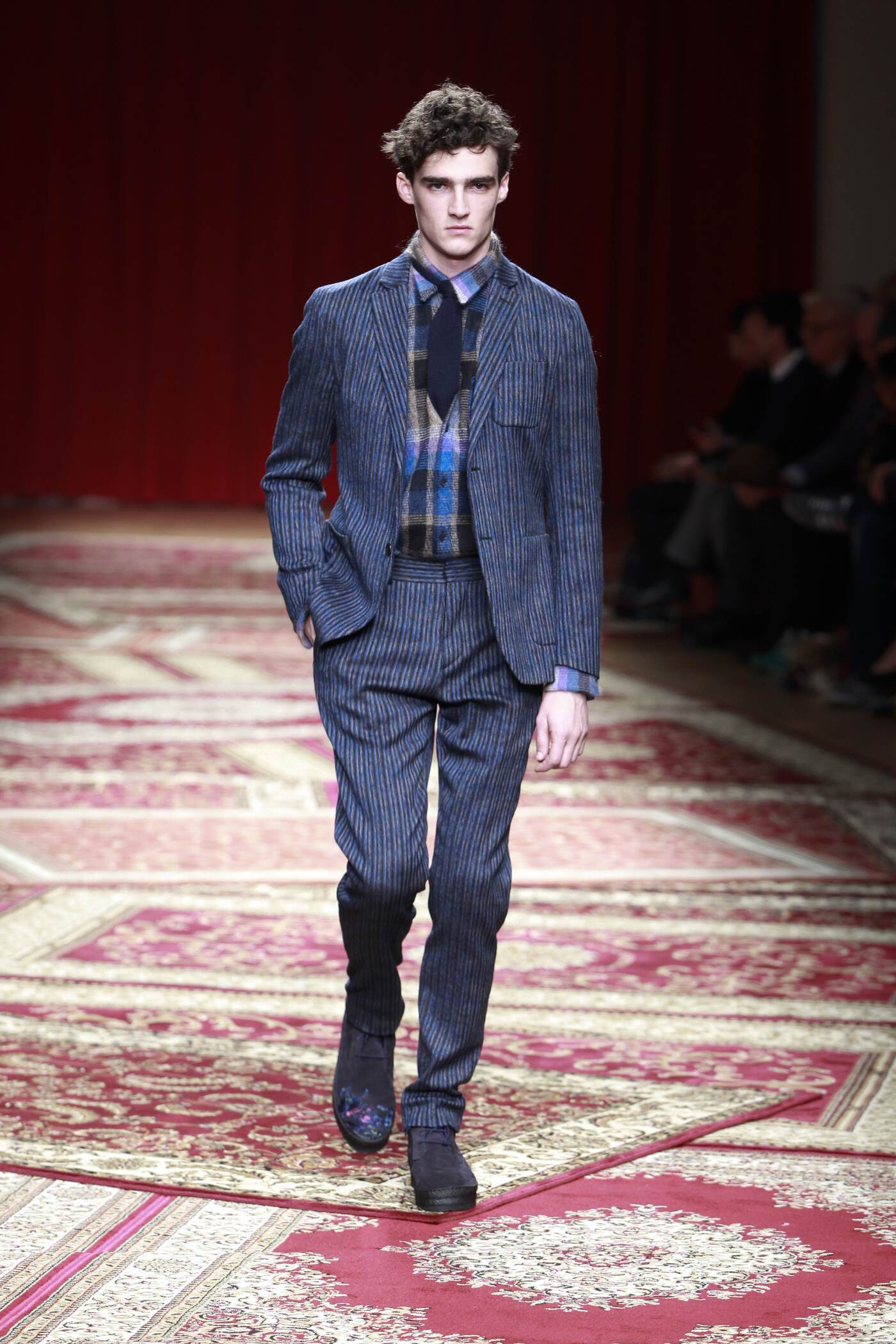 Fall Fashion Man Missoni