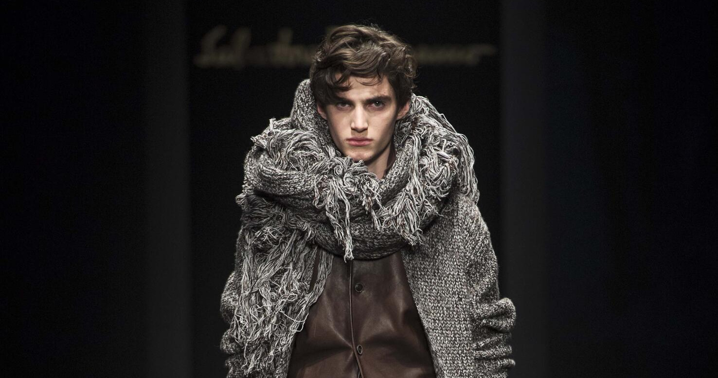Fall Fashion Man Salvatore Ferragamo 2015