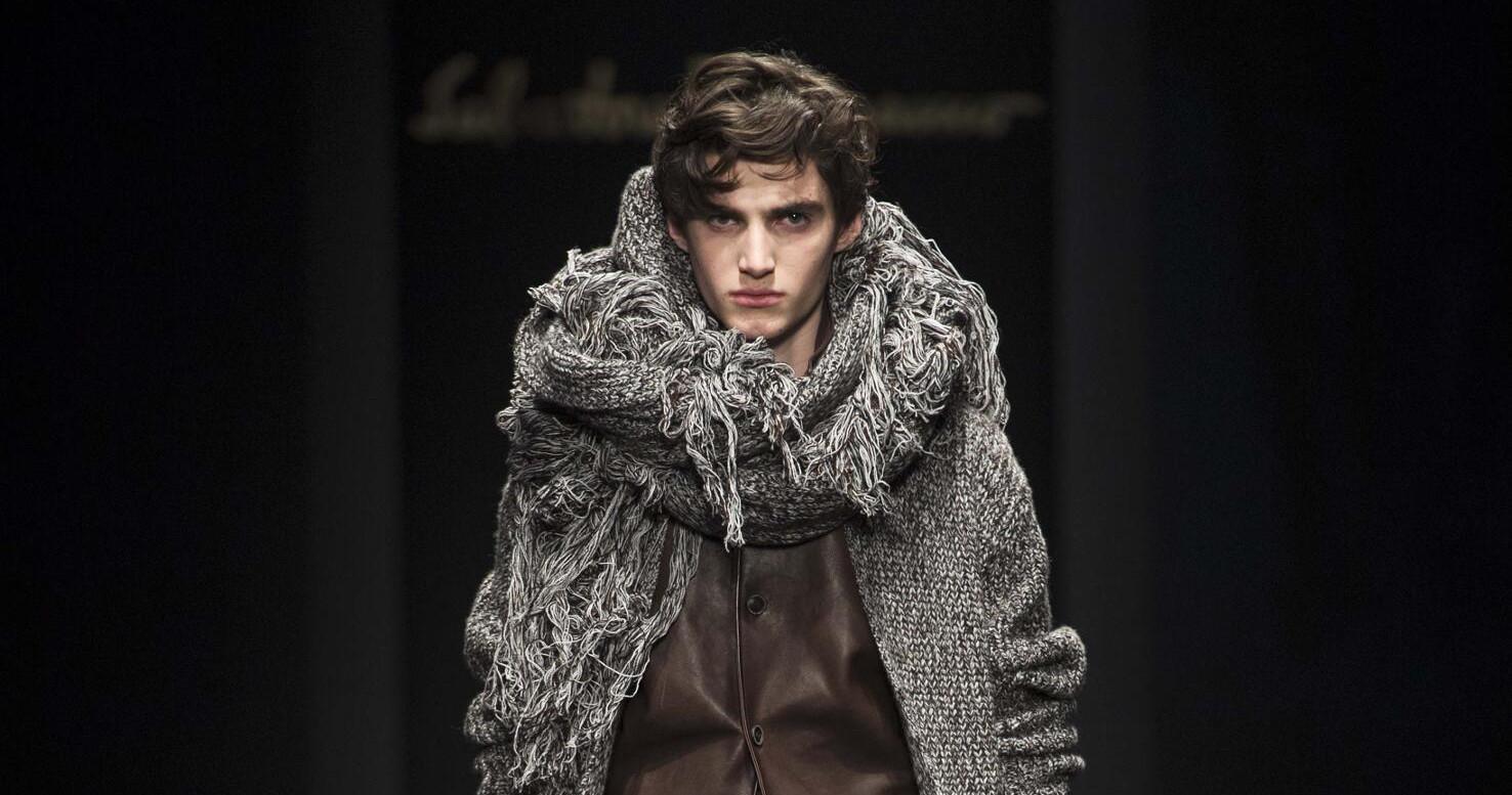 Fall Fashion Man Salvatore Ferragamo 2015