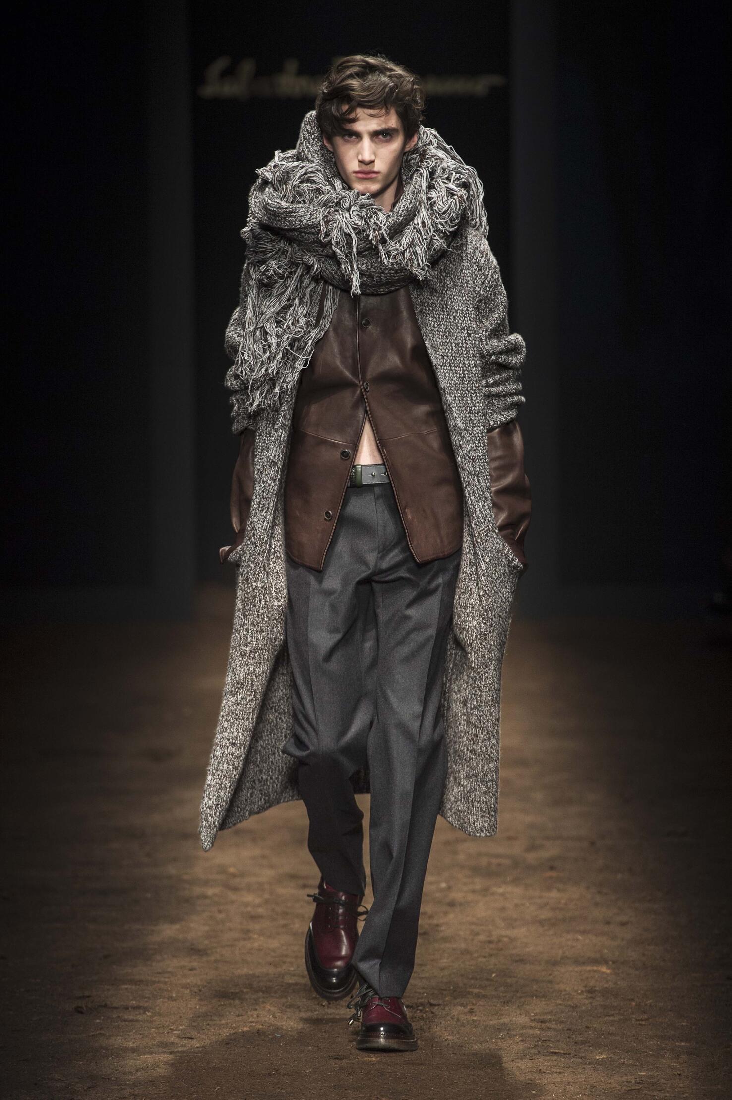 Fall Fashion Man Salvatore Ferragamo