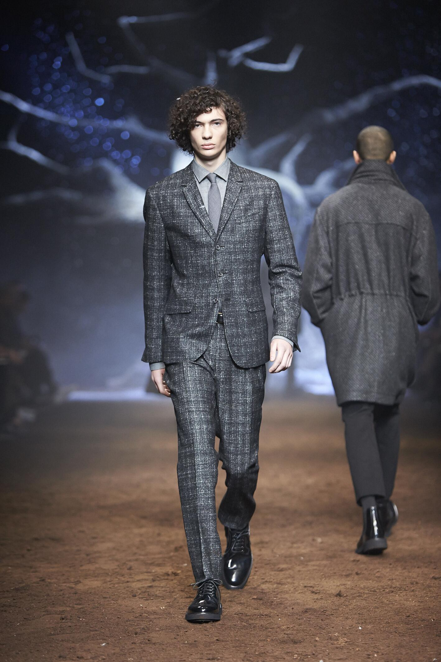 Fall Fashion Man Suit