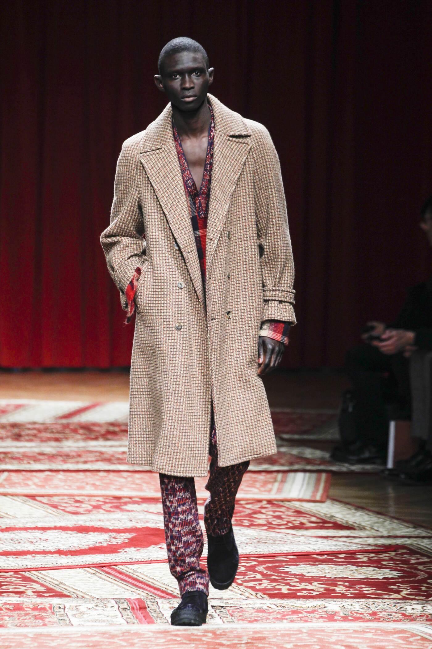 Fall Missoni Fashion Man