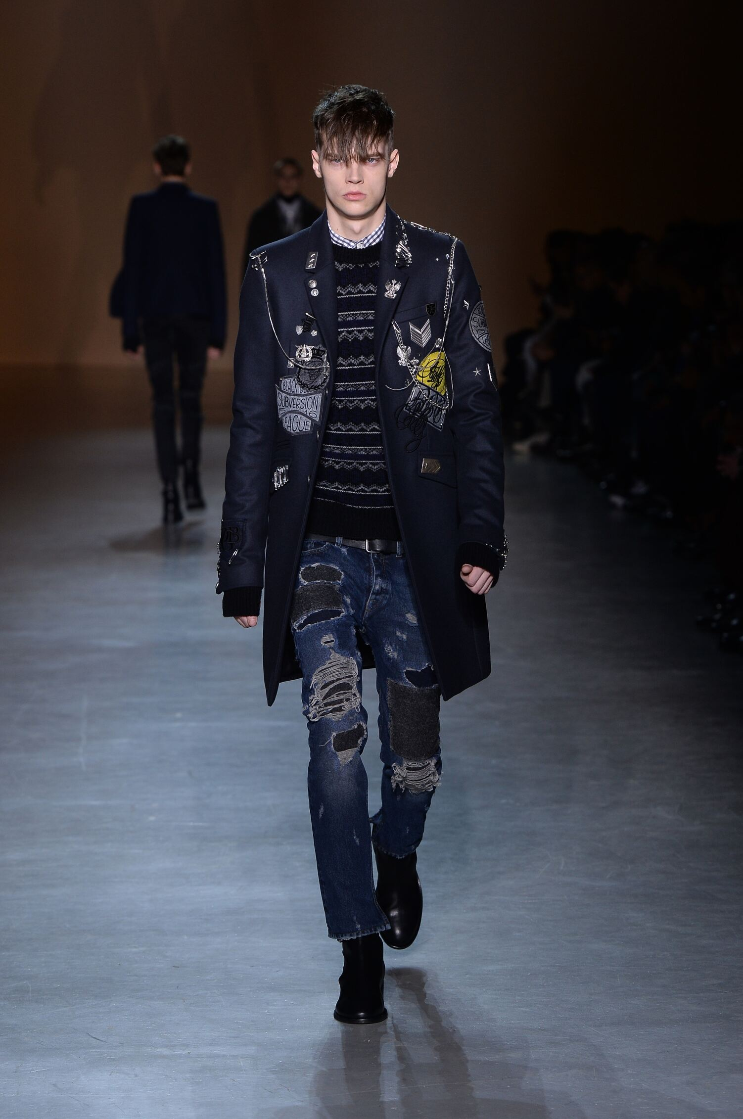 Fall Winter 2015 16 Fashion Men's Collection Diesel Black Gold