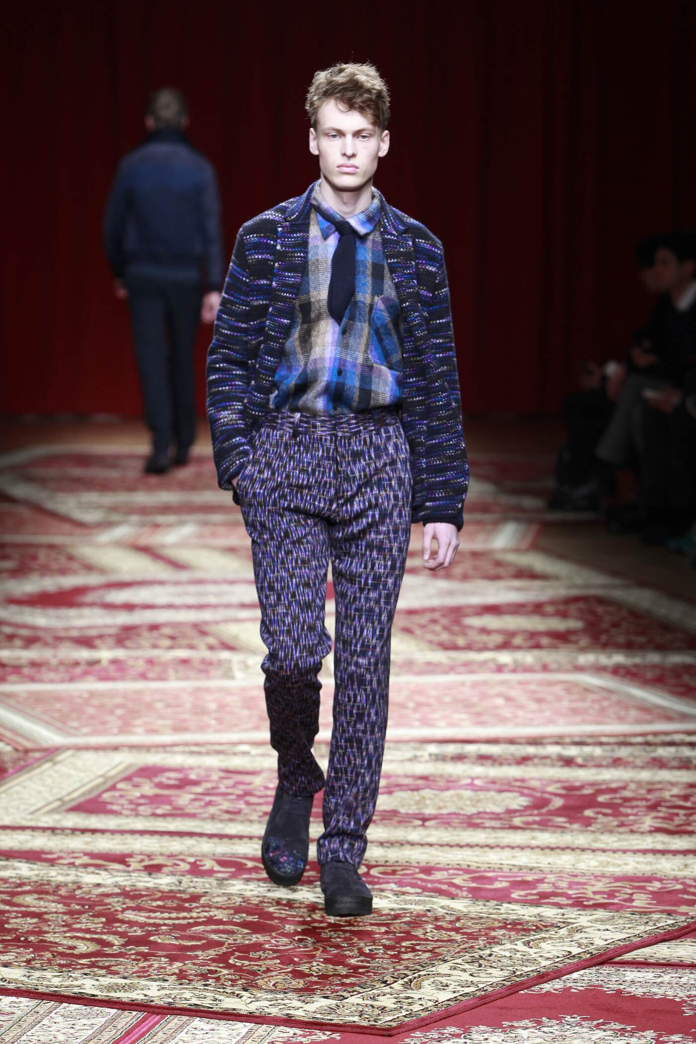Fall Winter 2015 16 Fashion Men's Collection Missoni