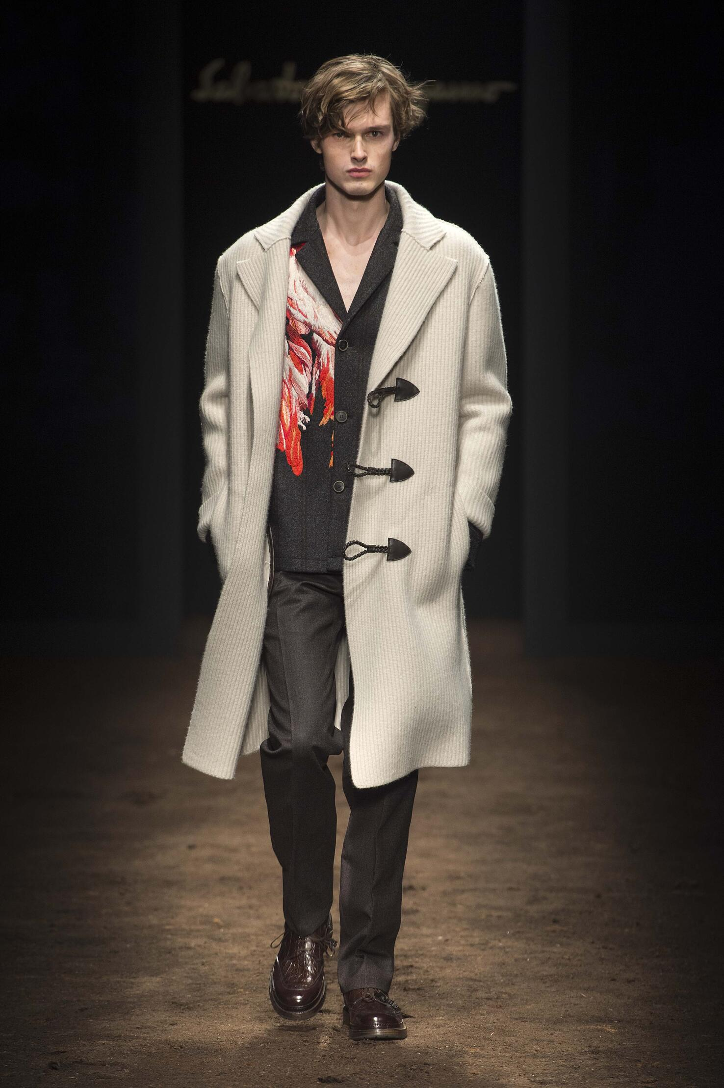Fall Winter 2015 16 Fashion Men's Collection Salvatore Ferragamo