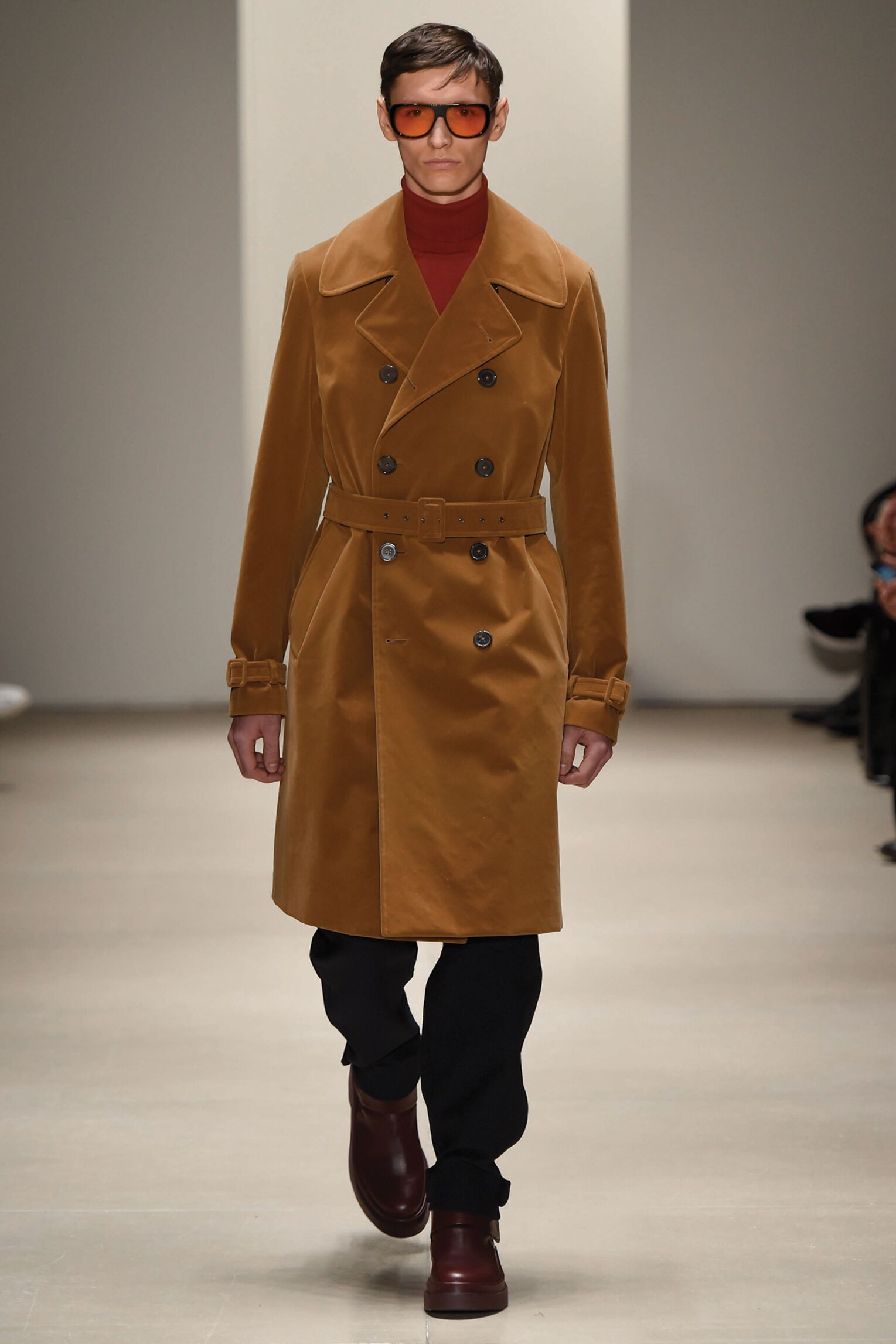 Fashion Man Model Jil Sander Catwalk