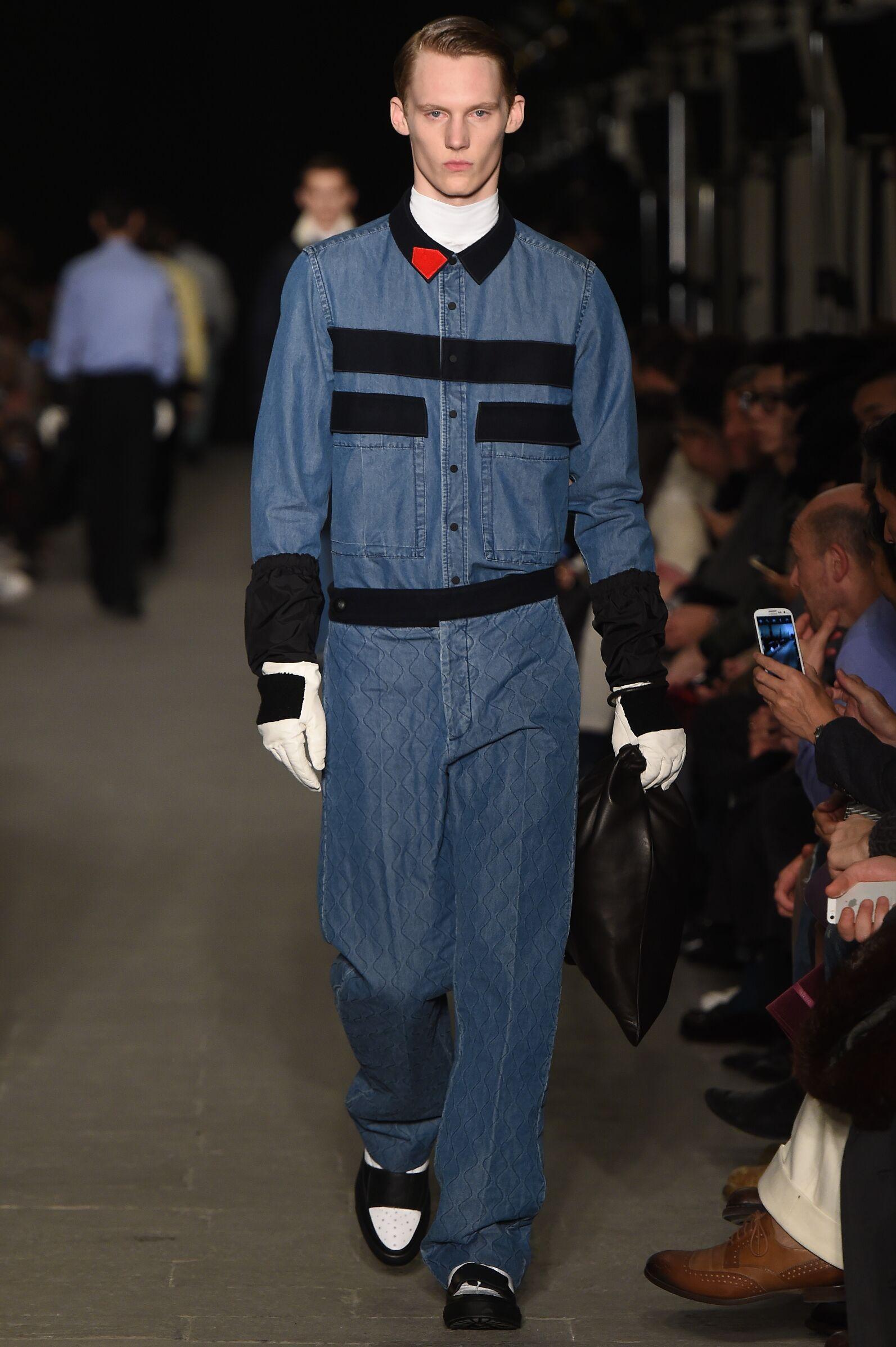 Fashion Model Andrea Pompilio Catwalk