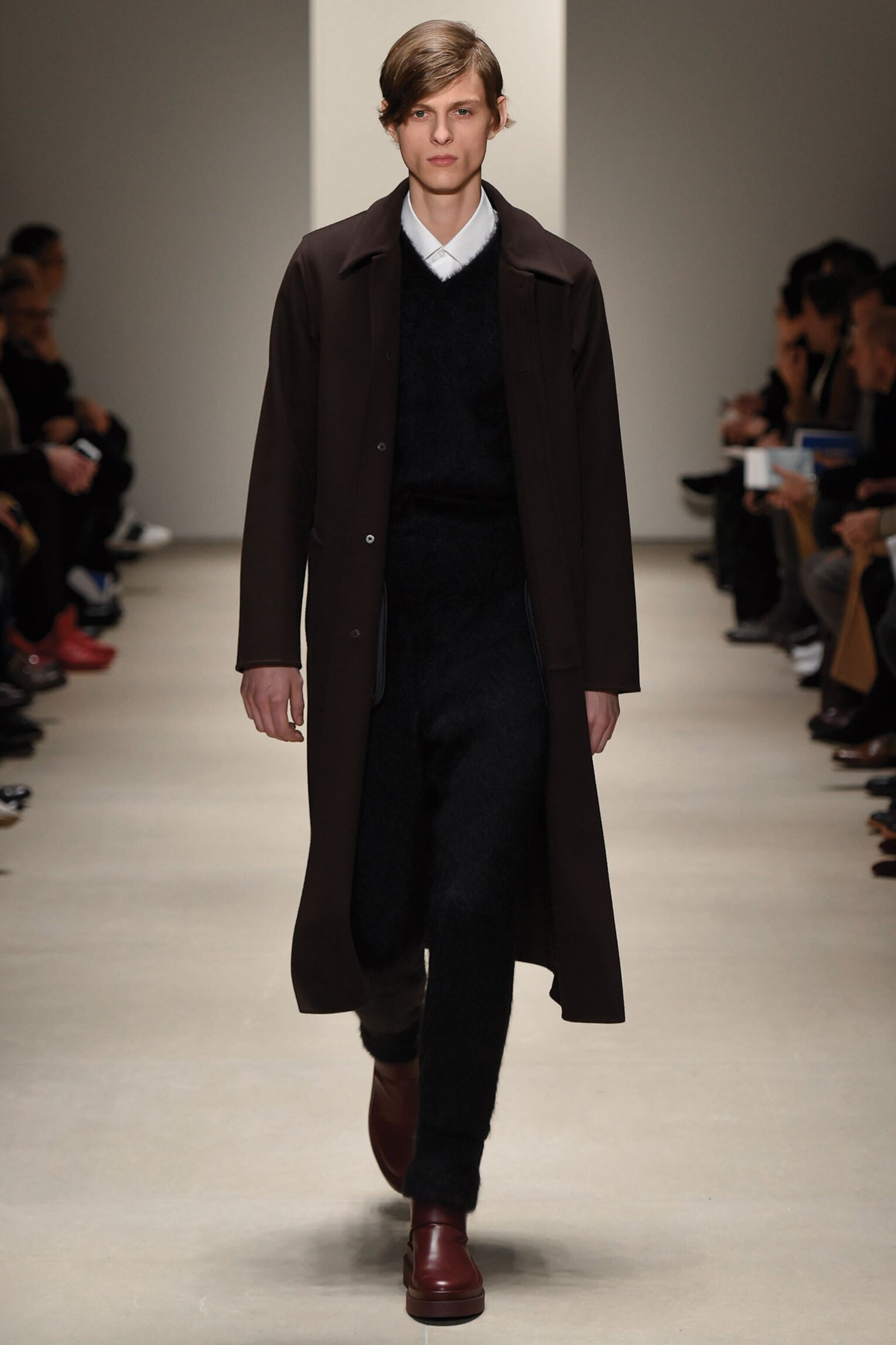 Fashion Model Jil Sander Catwalk