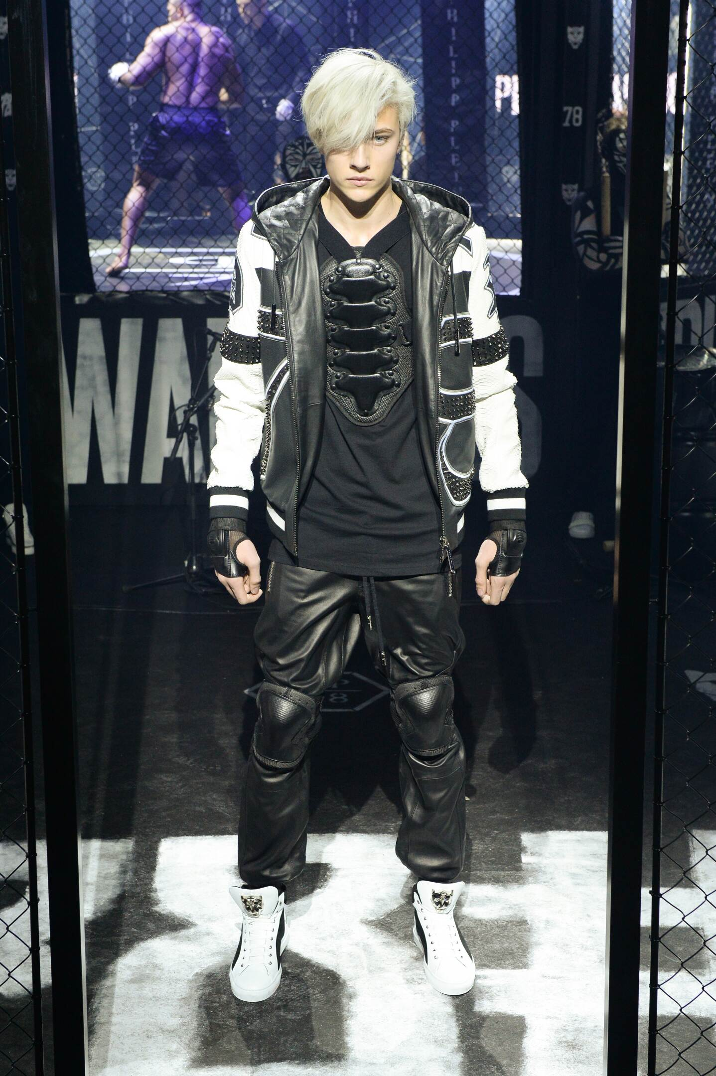 Fashion Model Philipp Plein Catwalk