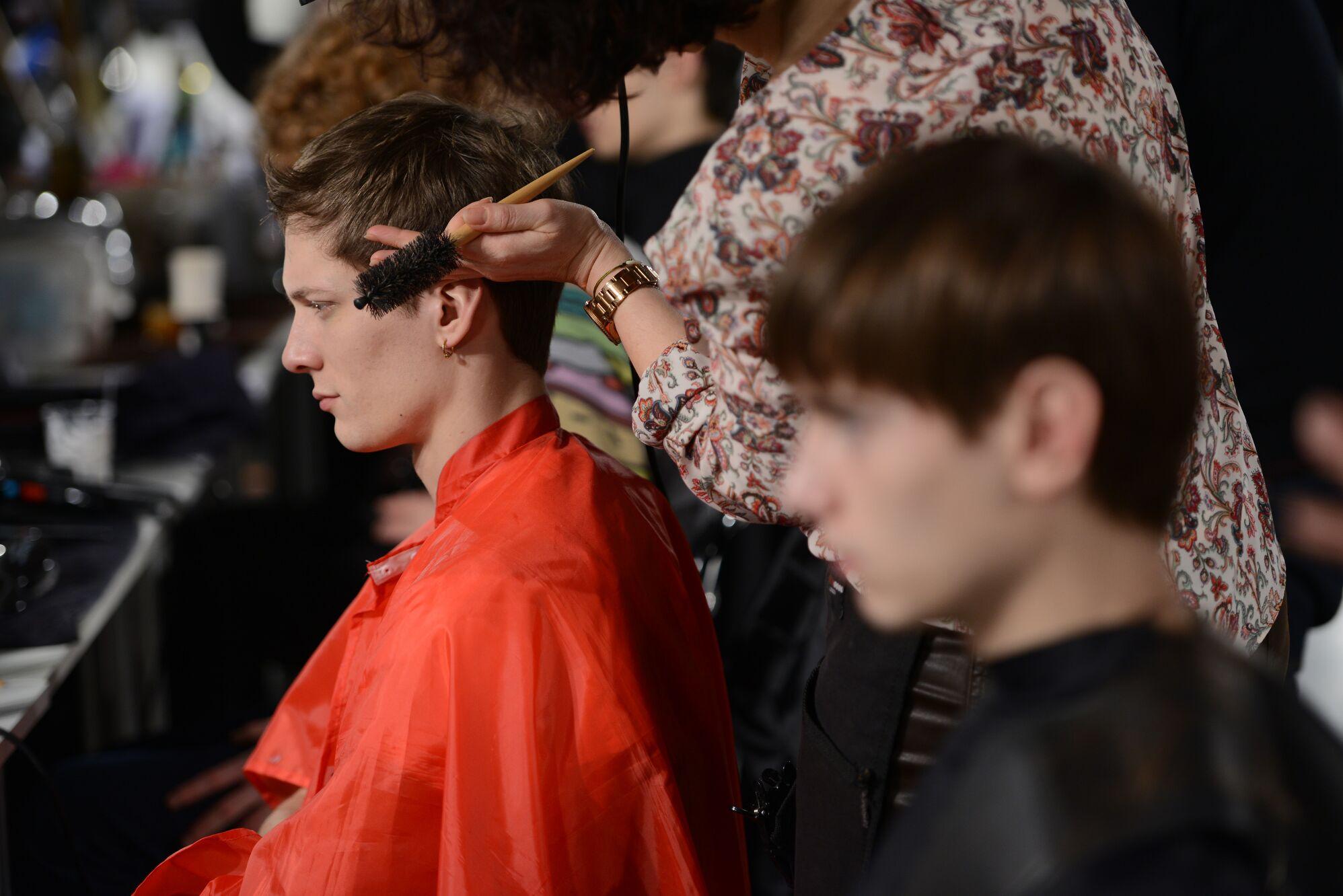 Hair Style Backstage Diesel Black Gold 2015