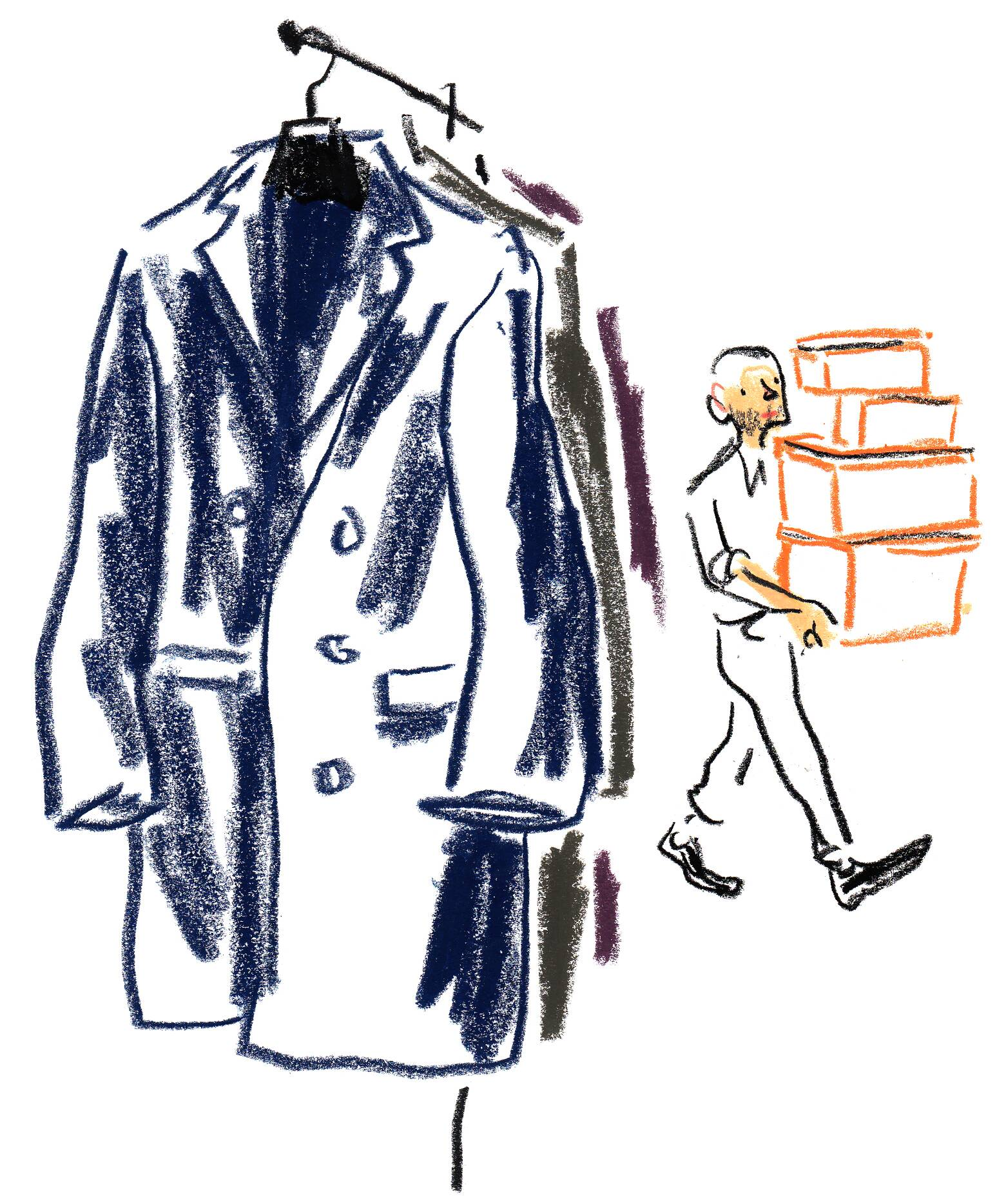 Hermès Fall Winter 2015-16 Men's Illustration