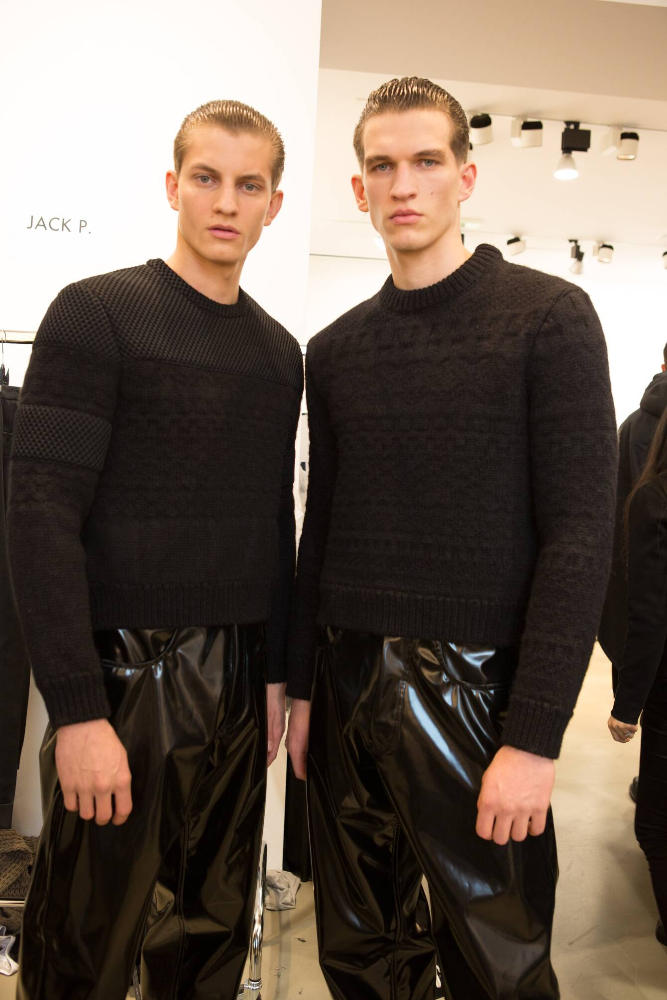 Men Models 2015 Backstage Calvin Klein Collection Milan