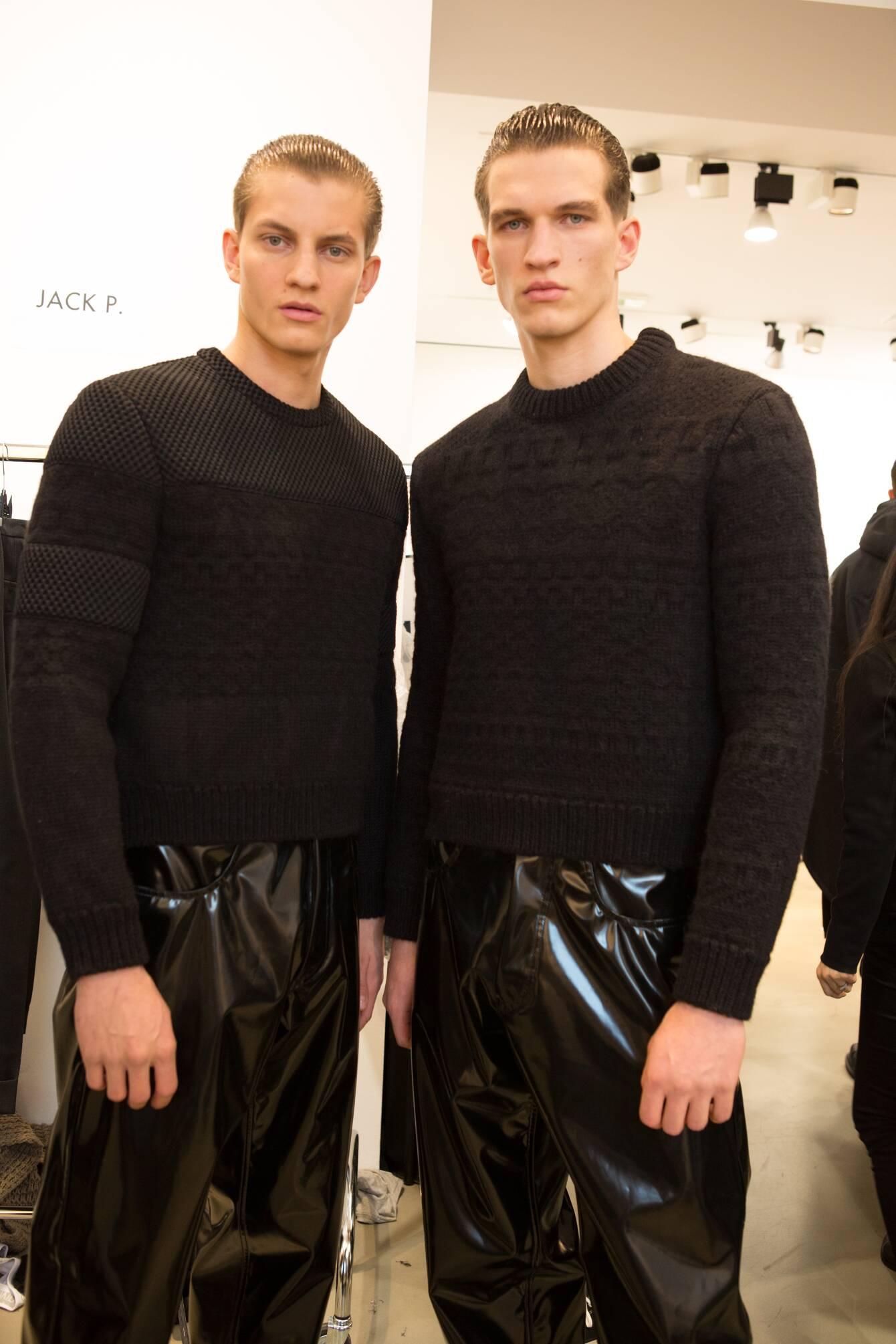 Men Models 2015 Backstage Calvin Klein Collection Milan