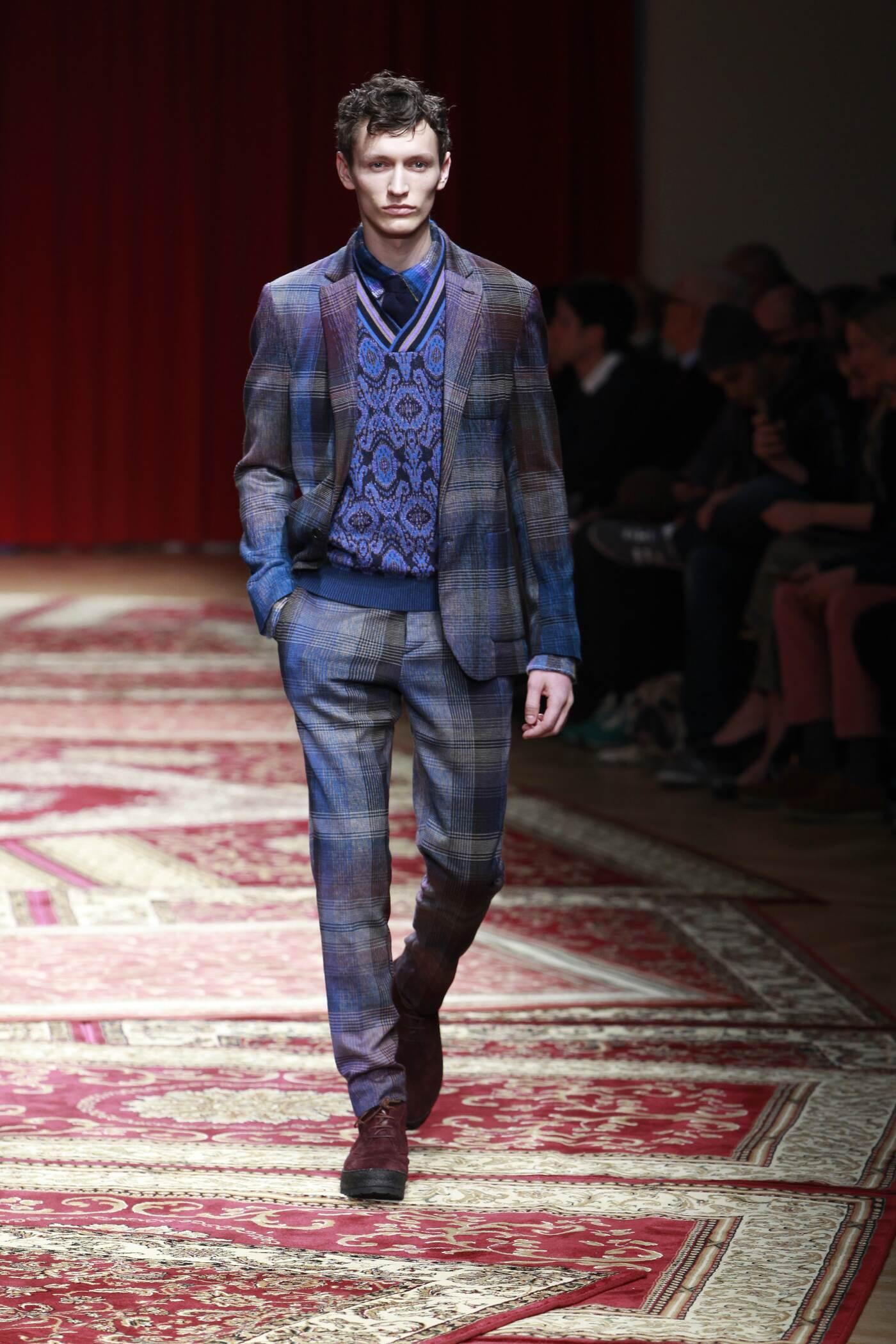 Missoni Fall Winter 2015 16 Men's Collection Milan Fashion Week Fashion Show