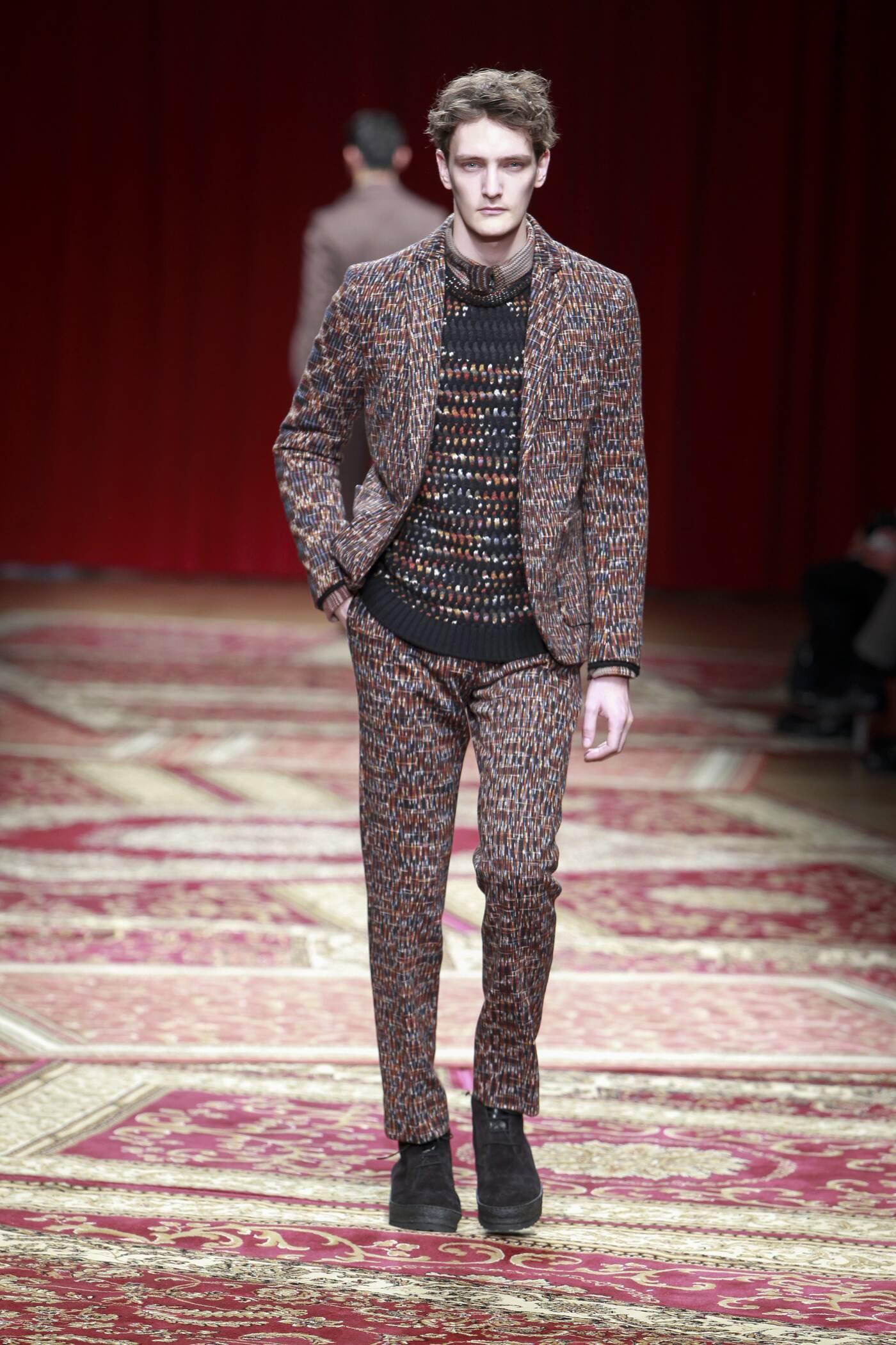 Missoni Fall Winter 2015 16 Mens Collection Milano Fashion Week