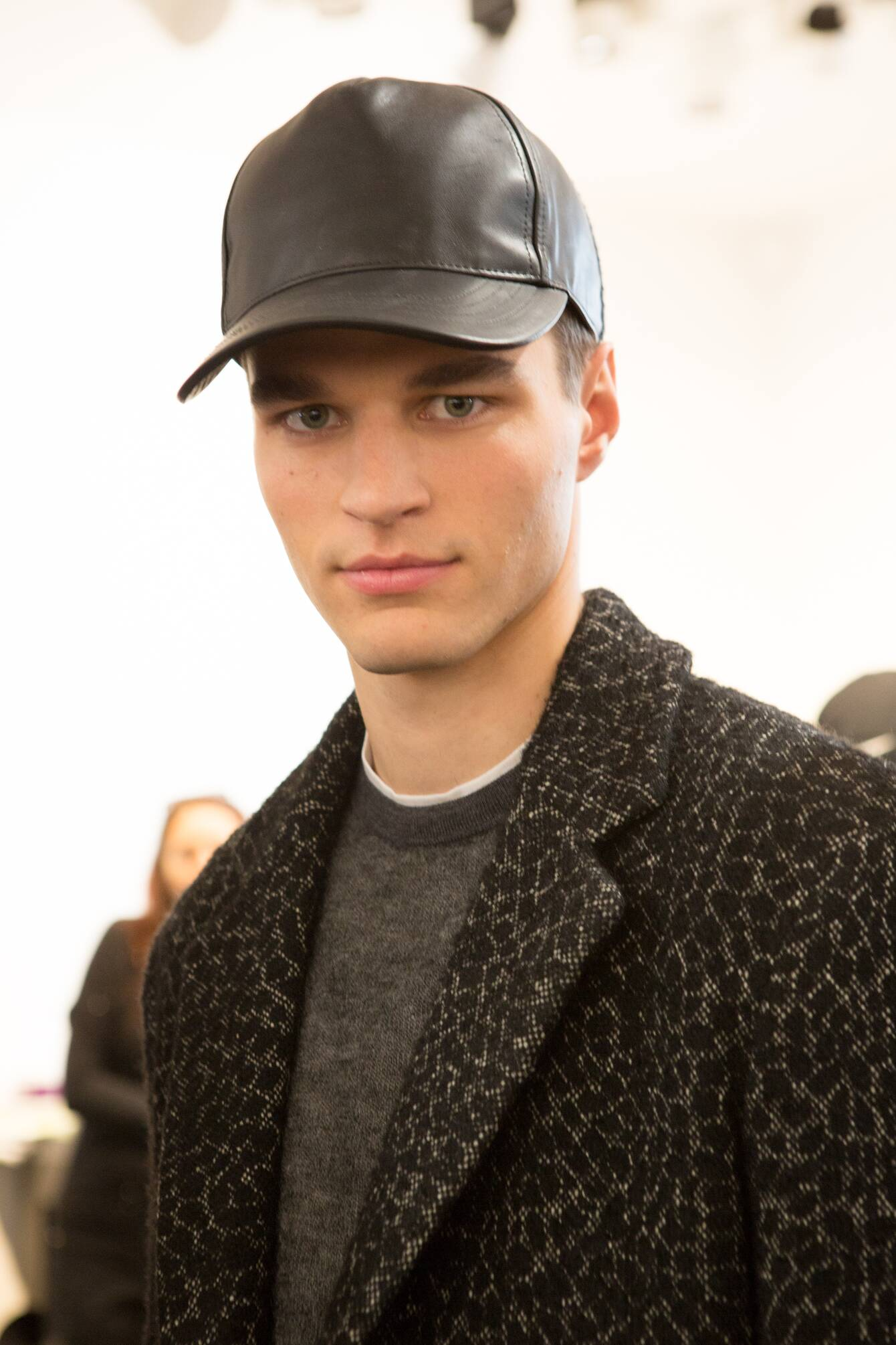 Model Detail Backstage Calvin Klein Collection FW 2015
