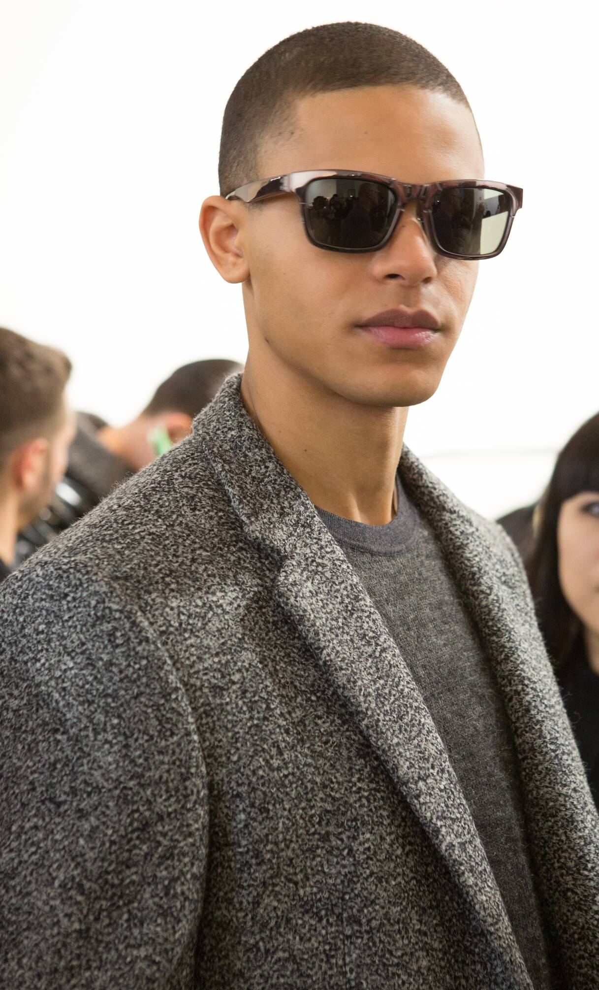 Model Trends 2015 Backstage Calvin Klein Collection