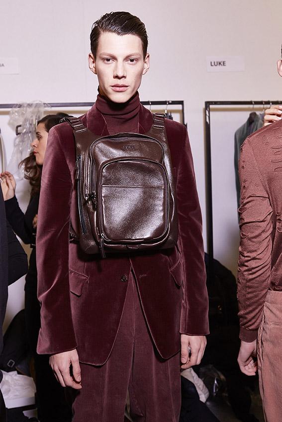 Model Trends 2015 Backstage Ermenegildo Zegna Couture