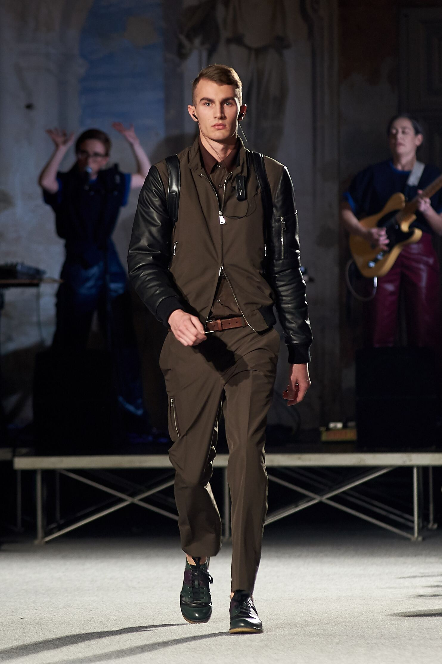 Runway Andrea Incontri Fall Winter 2015 Men's Collection Pitti Immagine Uomo