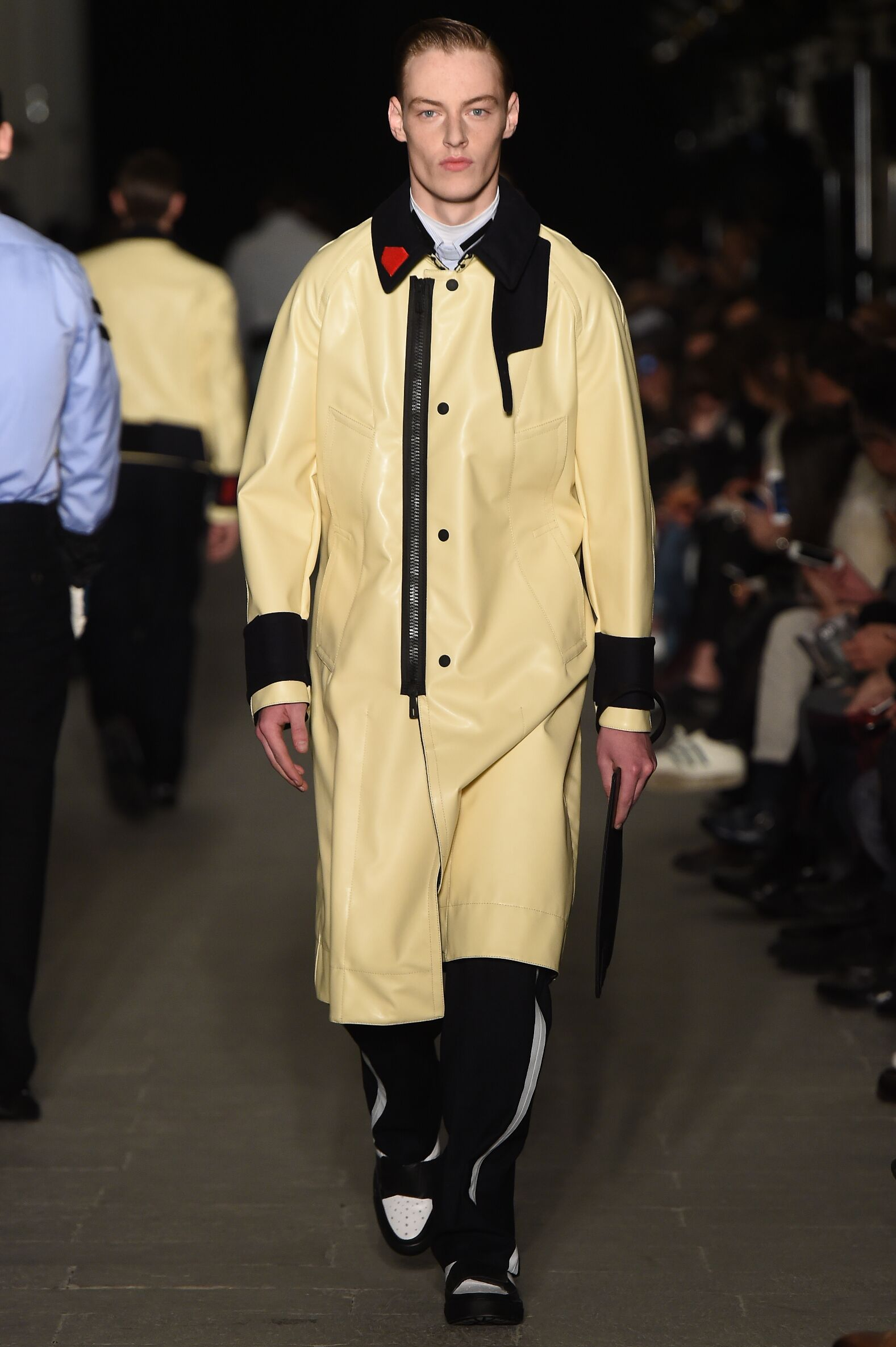 Runway Andrea Pompilio Fall Winter 2015 16 Men's Collection Milan Fashion Week