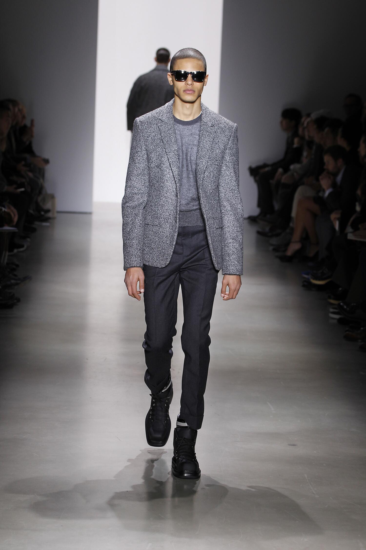 Runway Calvin Klein Fall Winter 2015 16 Men's Collection Milan Fashion Week