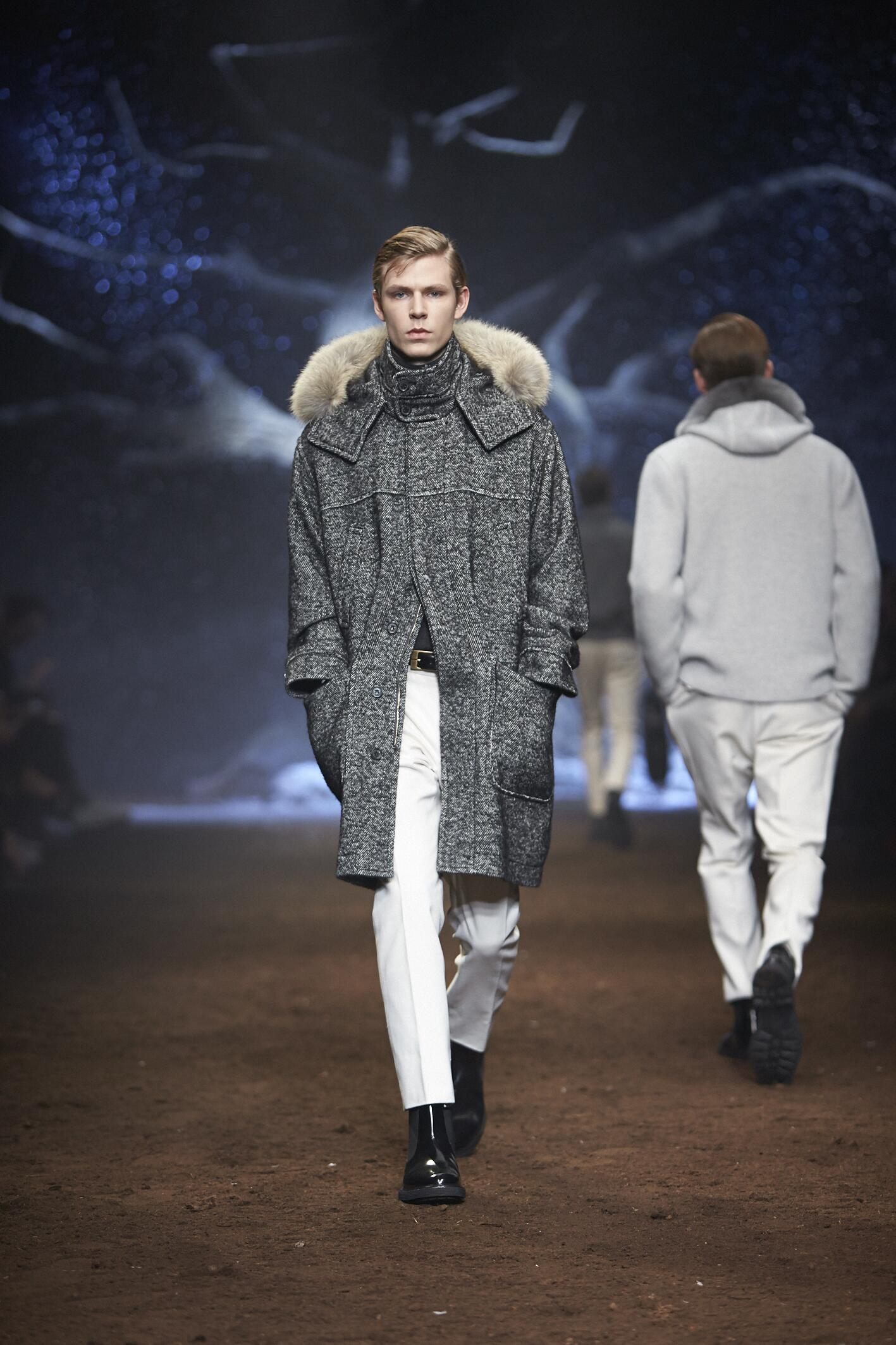 Runway Corneliani Fashion Show Winter 2015