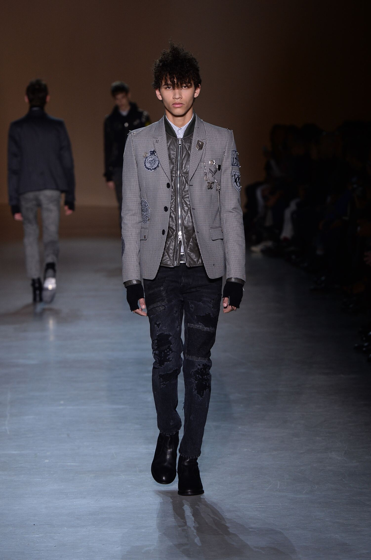 Runway Diesel Black Gold Fall Winter 2015 16 Men's Collection Milan Fashion Week