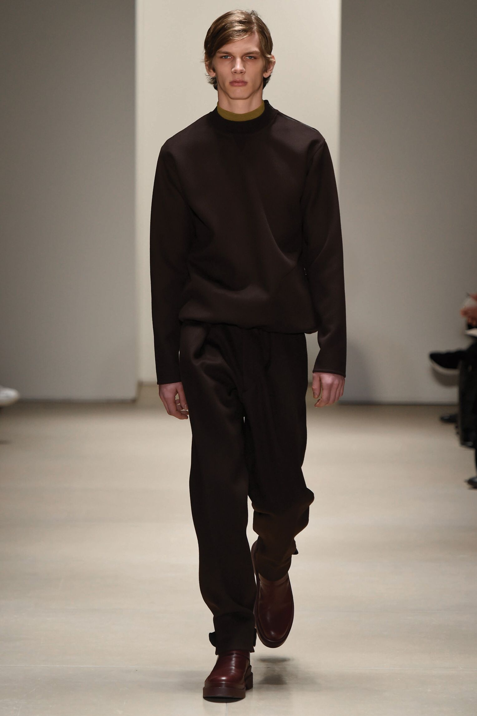 Runway Jil Sander Fall Winter 2015 16 Men's Collection Milan Fashion Week