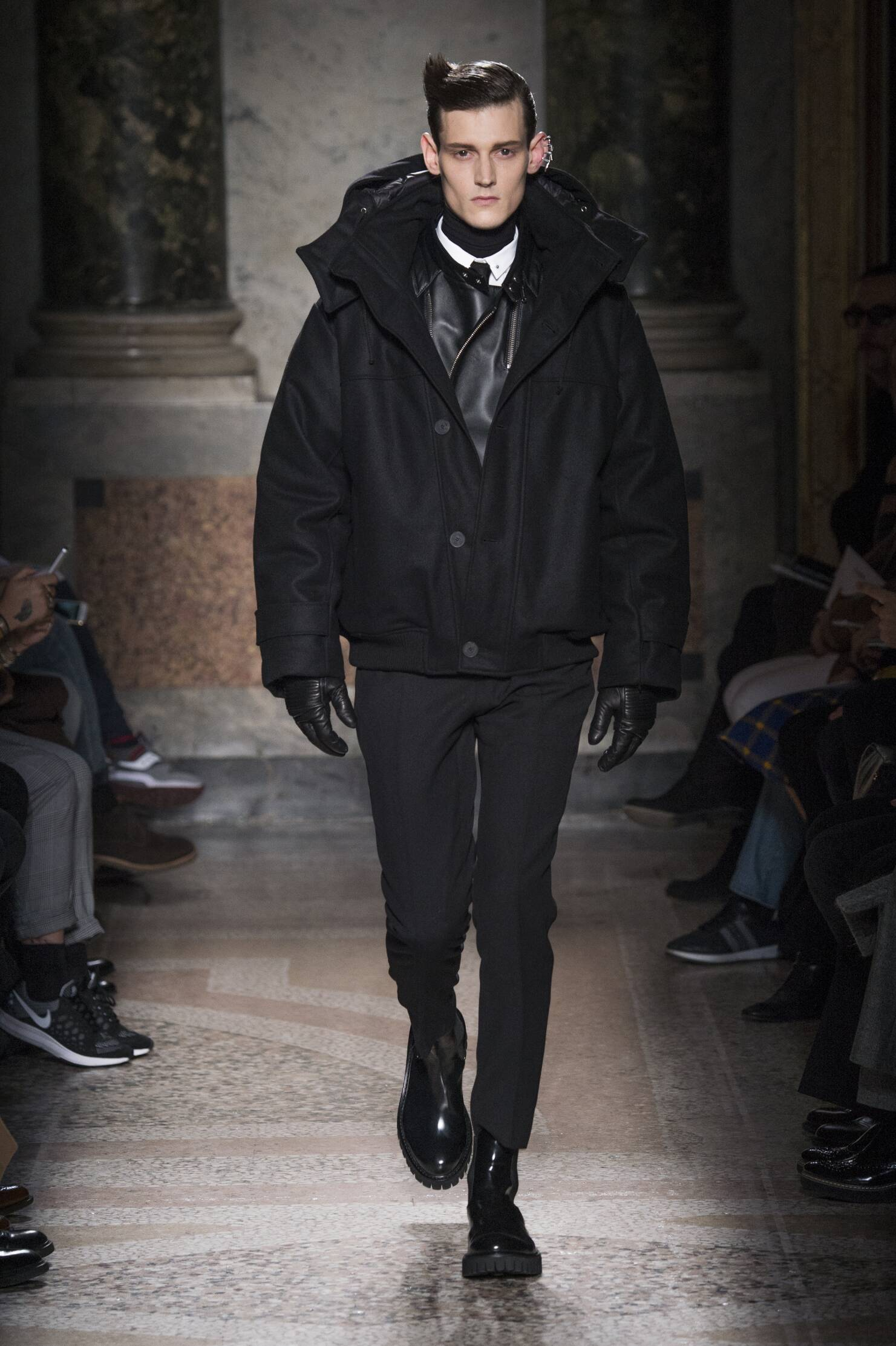 Runway Les Hommes Fall Winter 2015 16 Men's Collection Milan Fashion Week