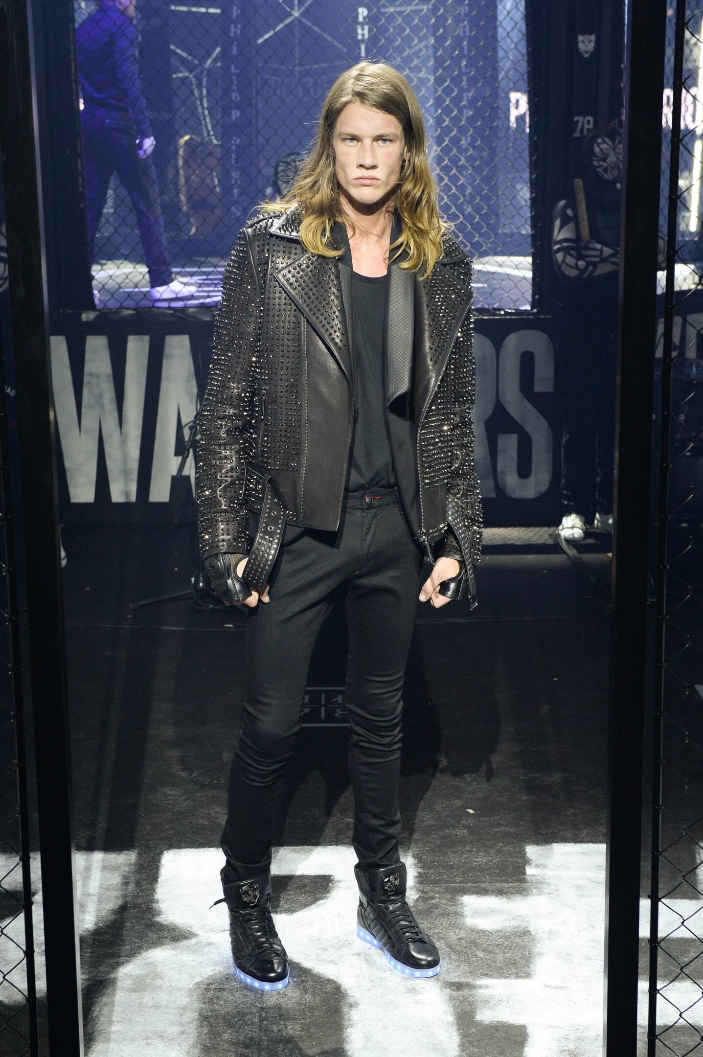 Runway Philipp Plein Fall Winter 2015 16 Men's Collection Milano Fashion Week