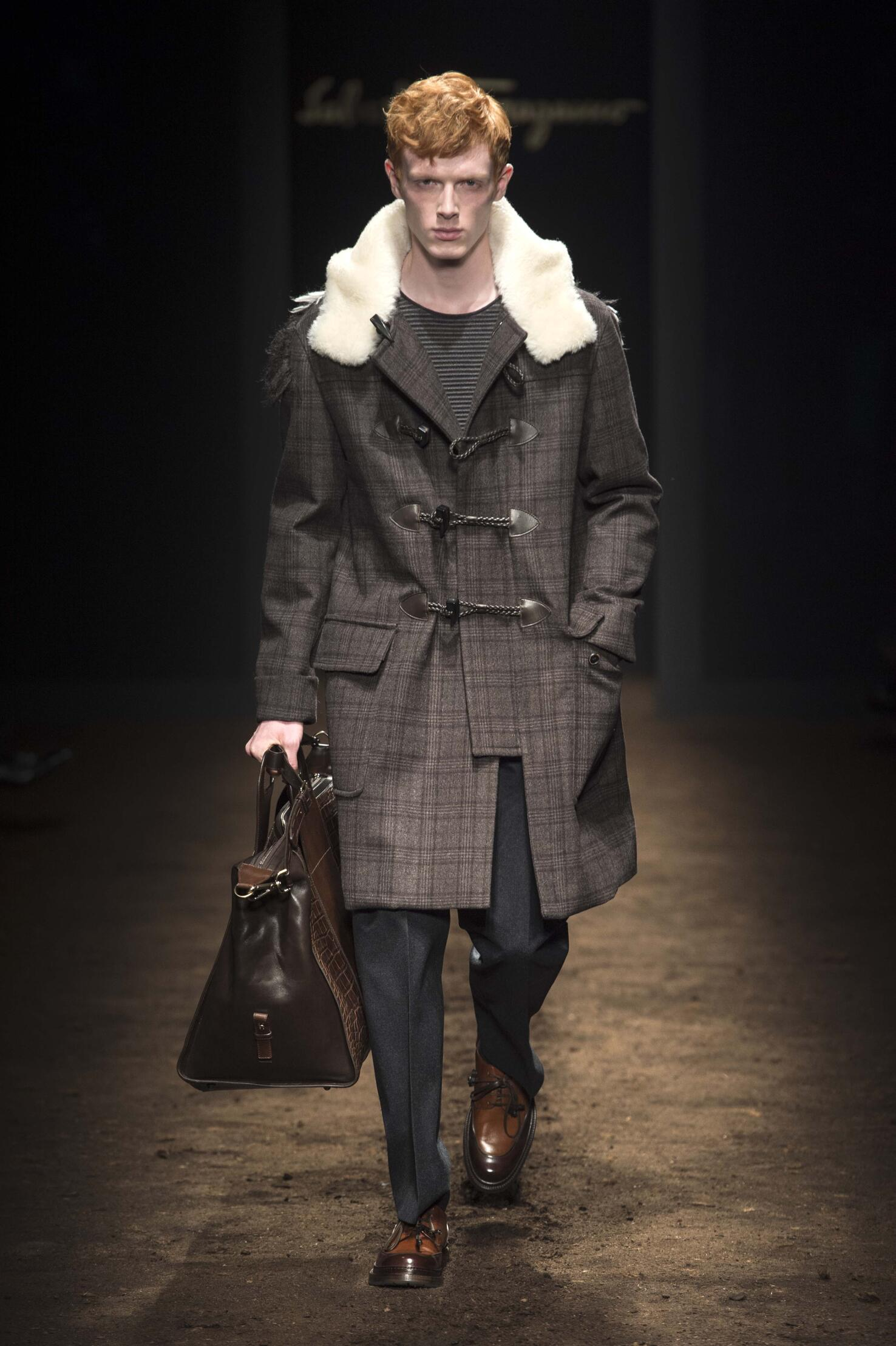 Salvatore Ferragamo Fall 2015 Catwalk