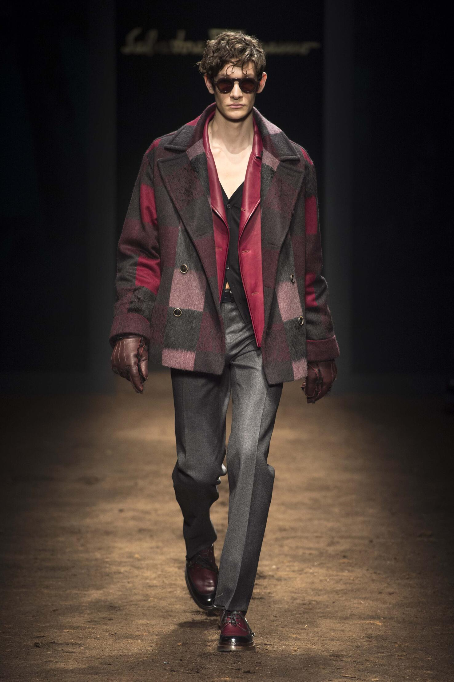 Salvatore Ferragamo Fall Winter 2015 16 Men's Collection Milan Fashion Week Fashion Show