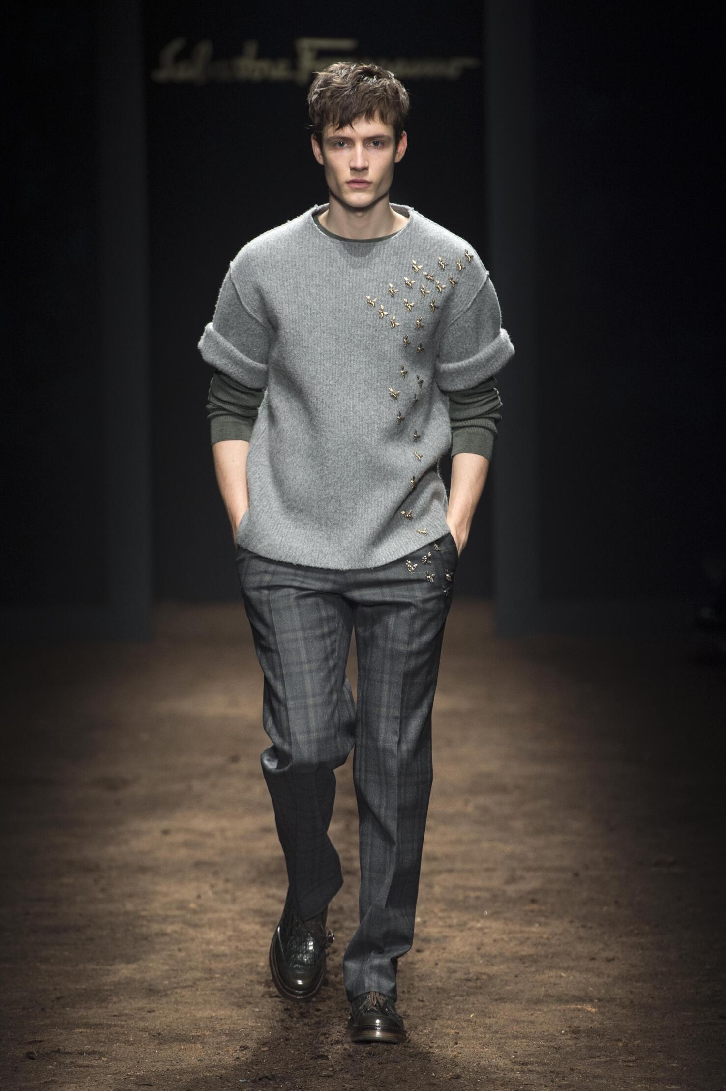 Salvatore Ferragamo Fall Winter 2015 16 Mens Collection Milano Fashion Week