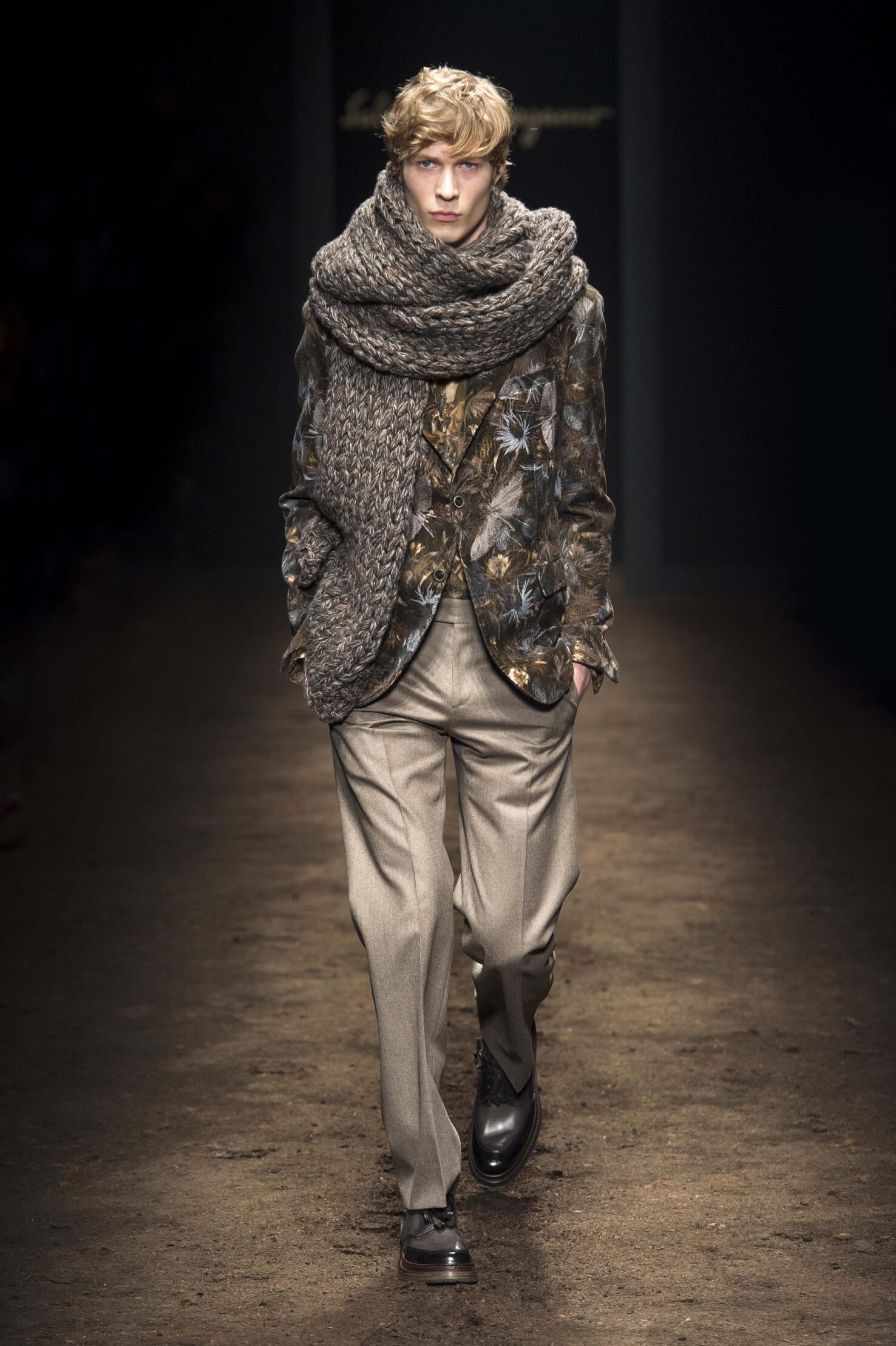 Salvatore Ferragamo Man Milano Fashion Week