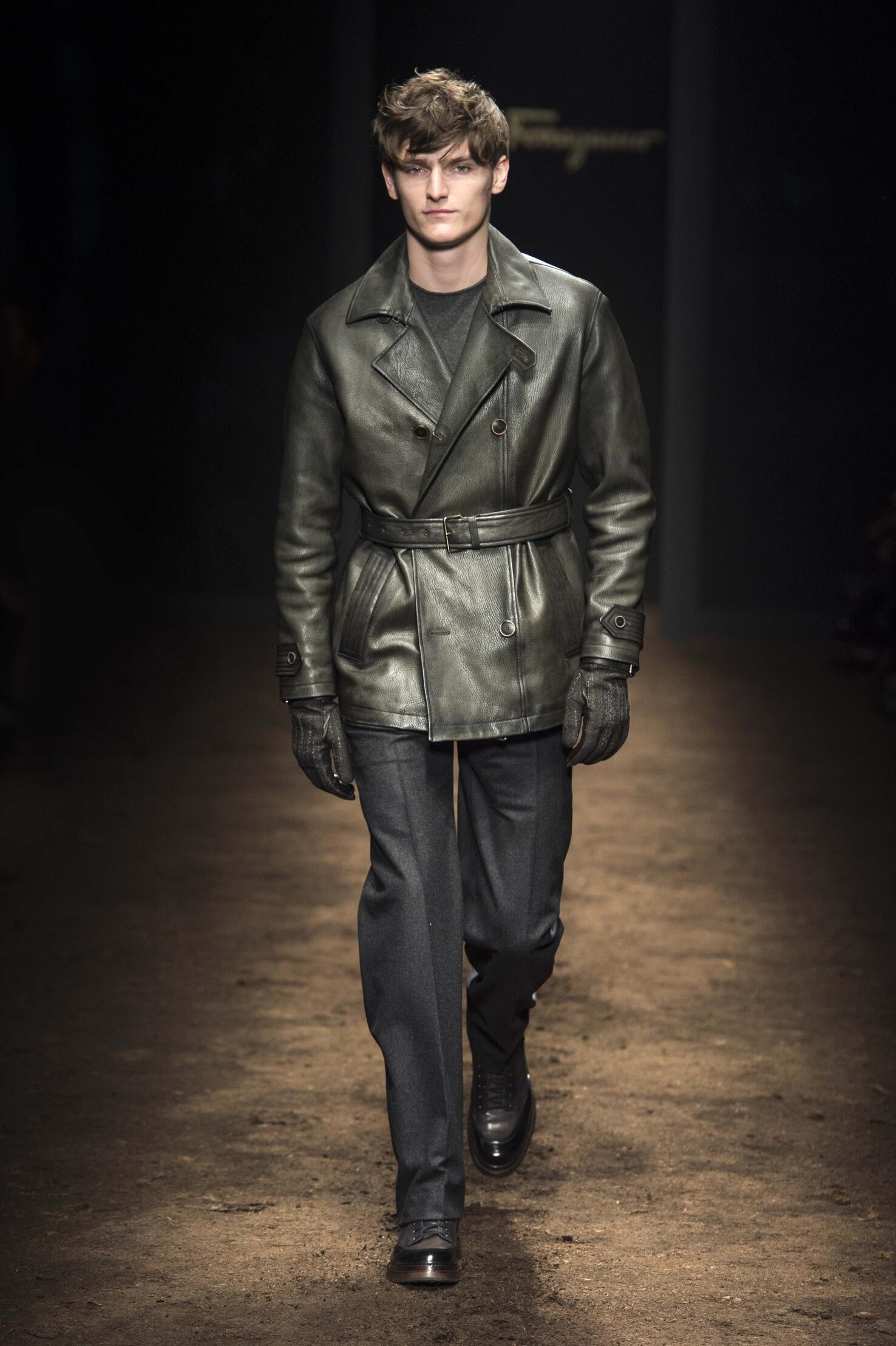 Salvatore Ferragamo Men's Collection 2015 2016