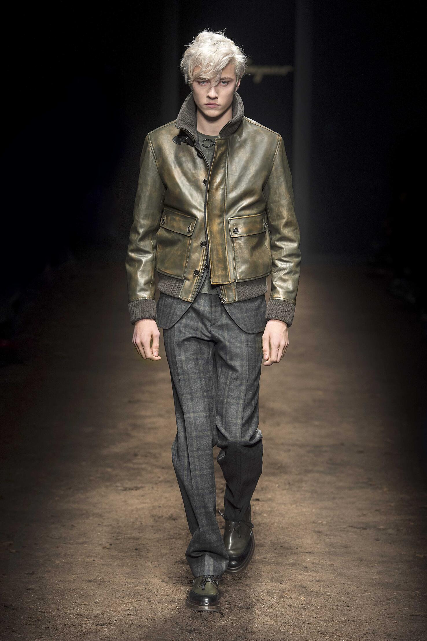 Salvatore Ferragamo Milano Fashion Week Menswear