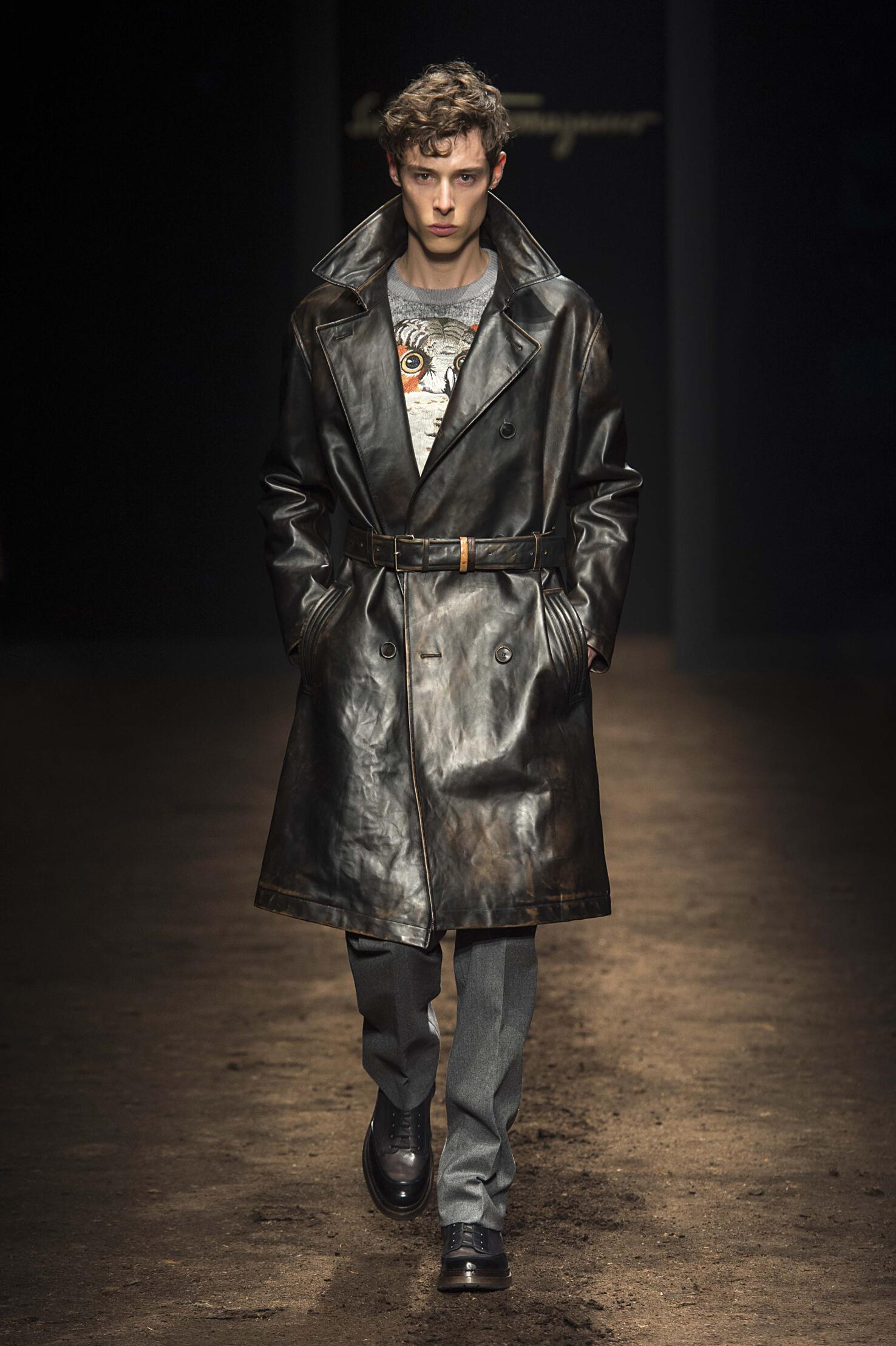 Salvatore Ferragamo Winter 2015 Catwalk