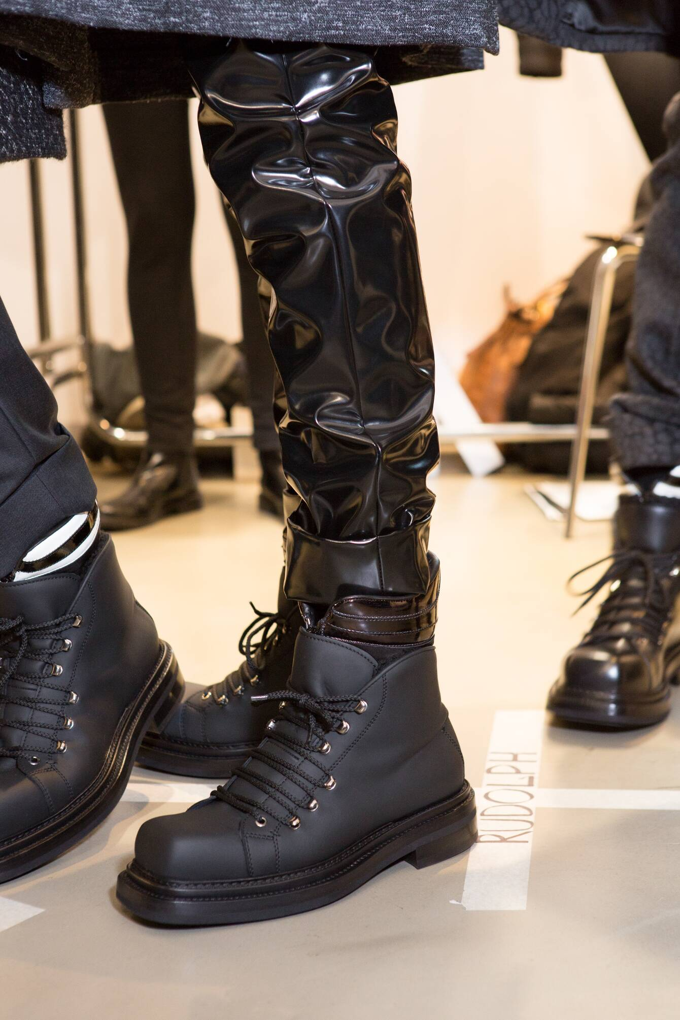 Shoes Calvin Klein Collection Backstage Fall Winter 2015