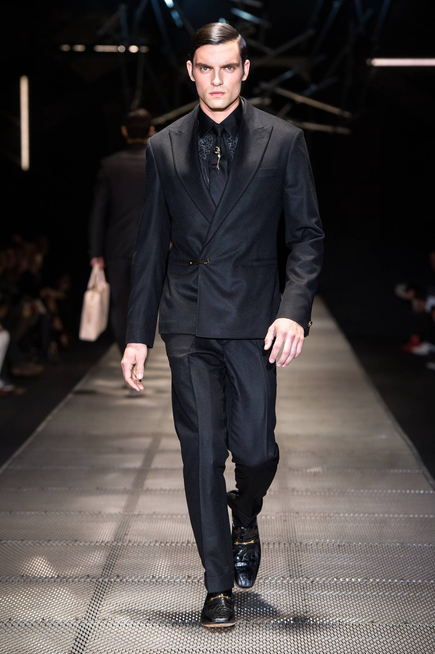 Versace Fall Winter 2015 16 Men's Collection Milan Fashion Week Fashion Show