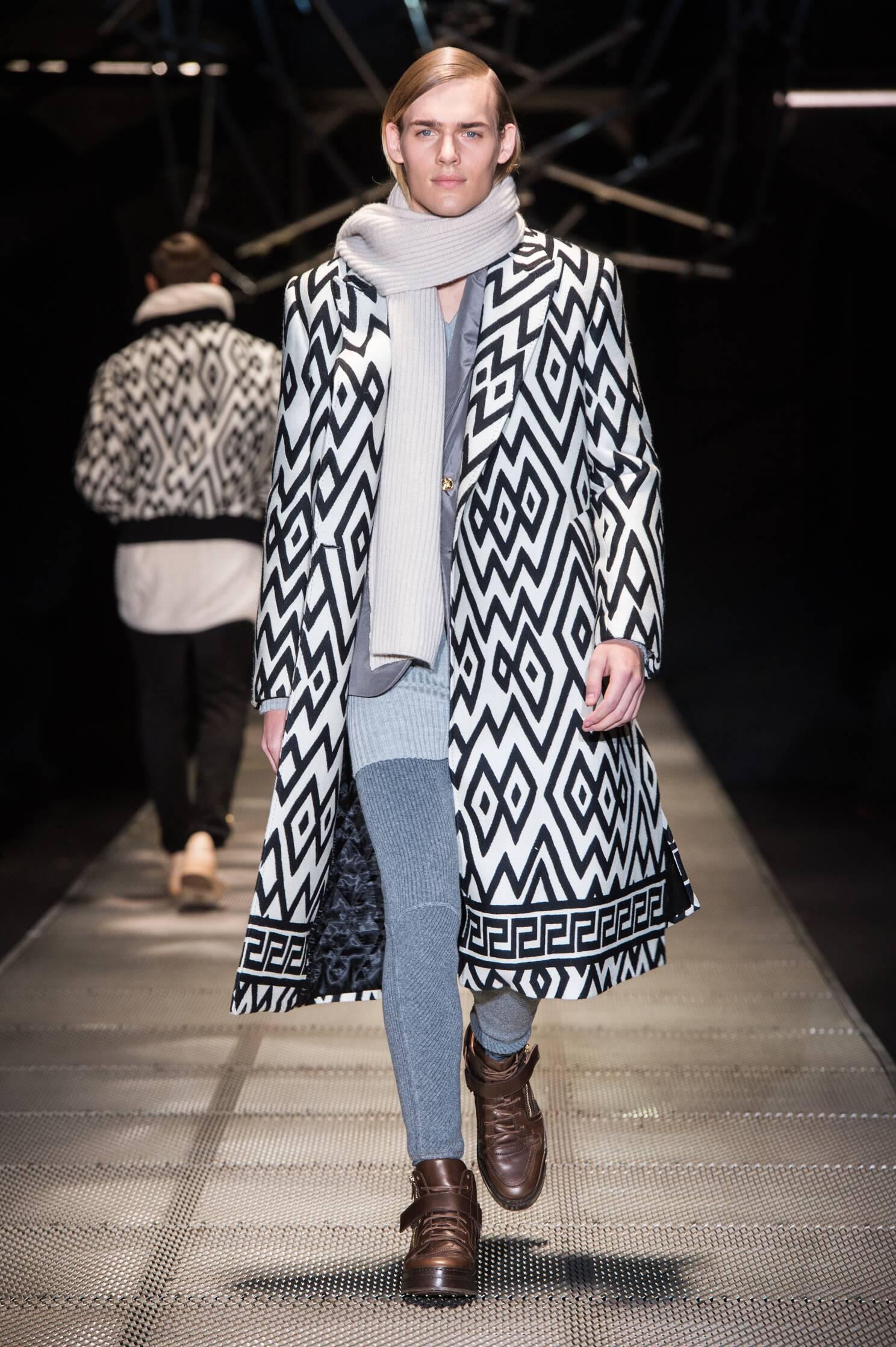Versace Fall Winter 2015 16 Mens Collection Milano Fashion Week