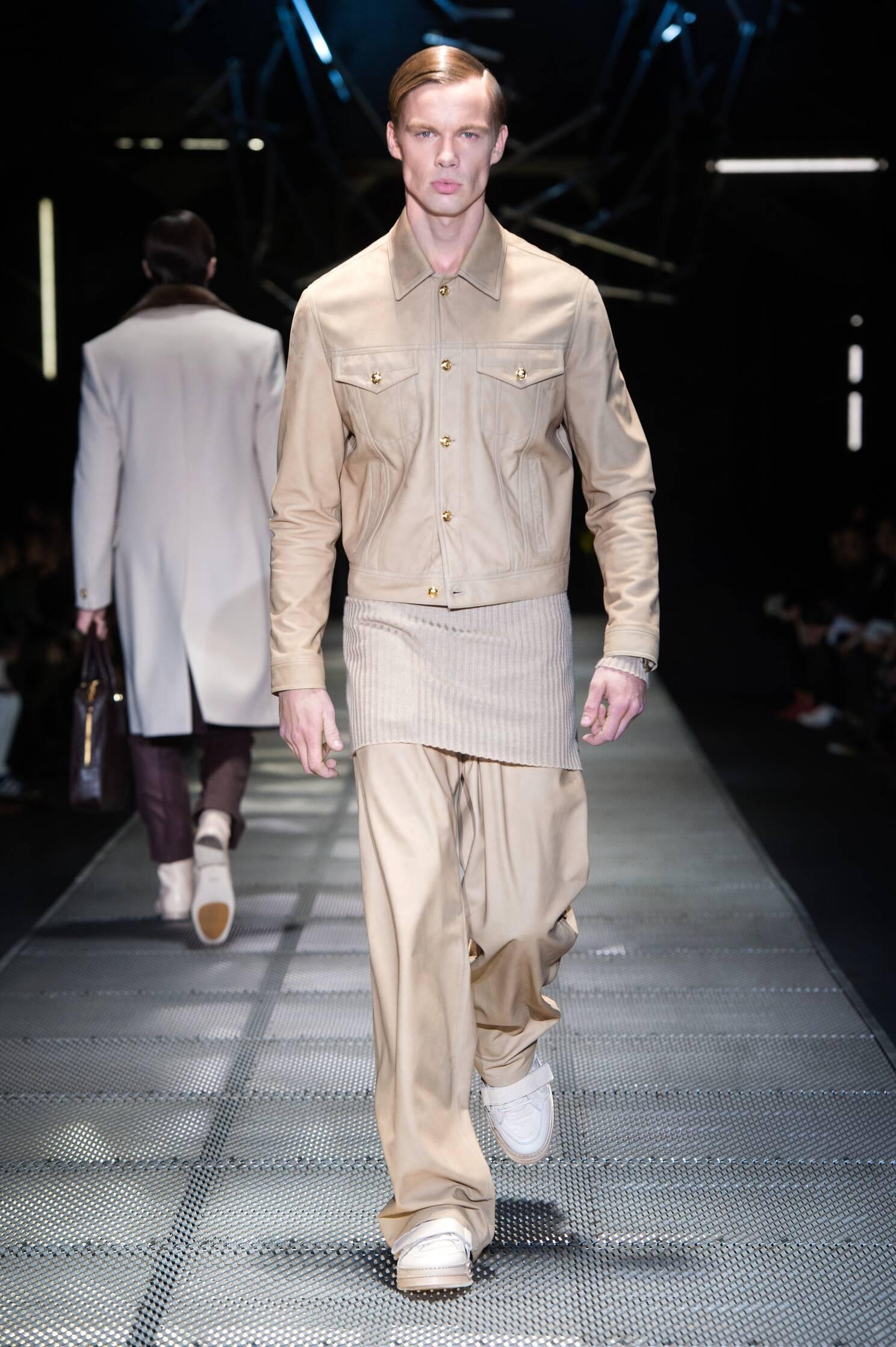 Versace Man Milano Fashion Week