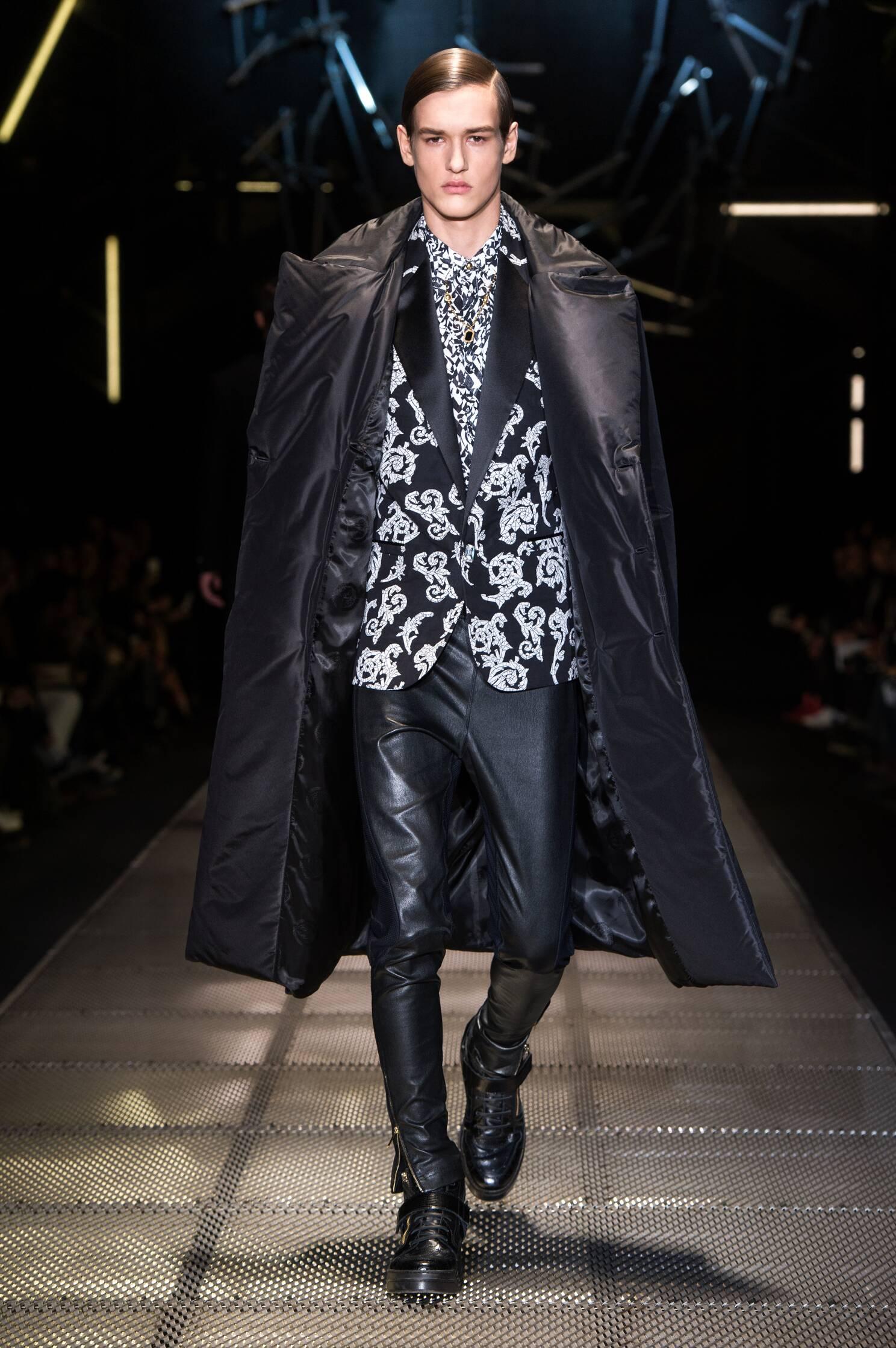 Versace Runway Milan