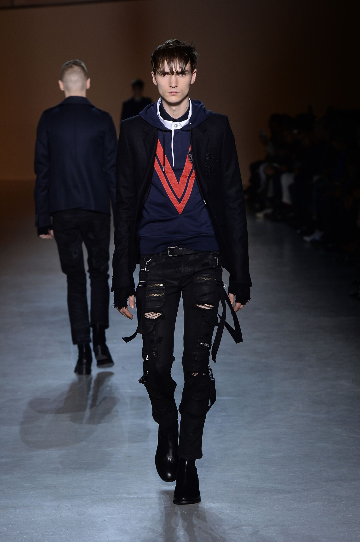Winter 2015 Fashion Show Diesel Black Gold