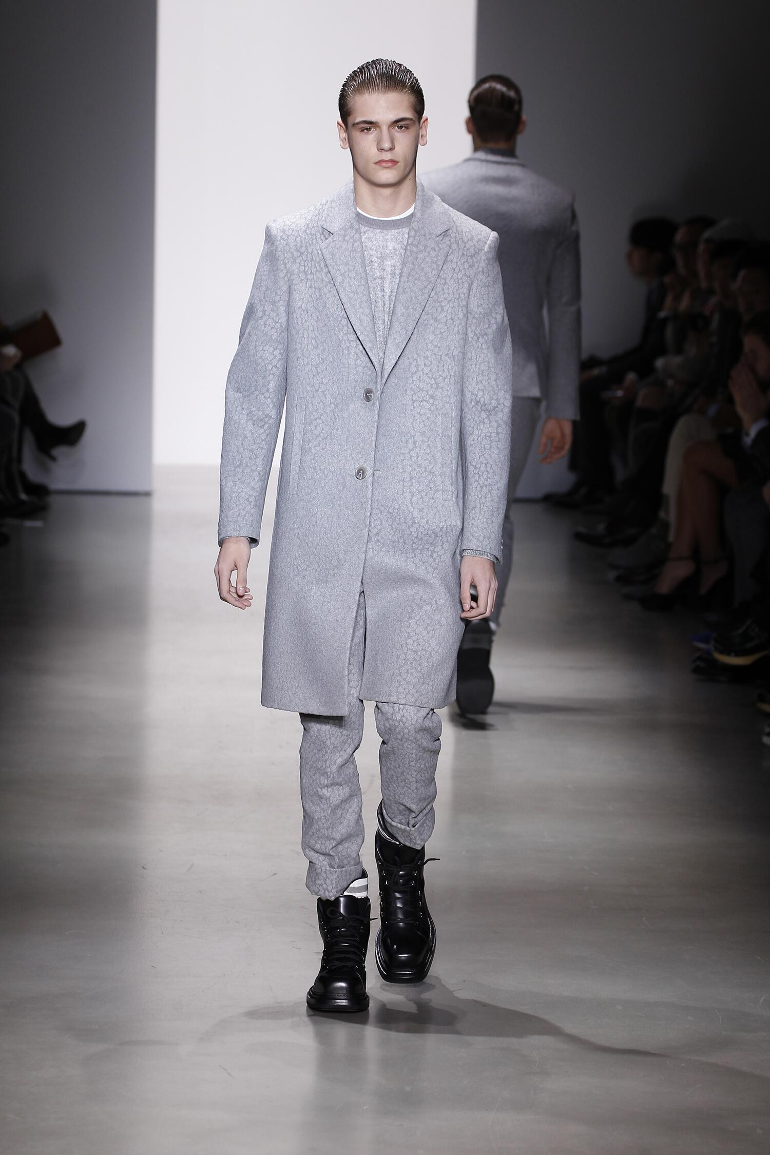 Winter 2015 Man Trends Calvin Klein Collection