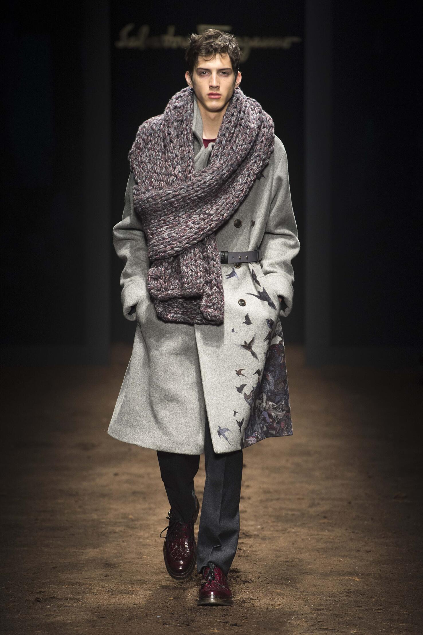 Winter 2015 Man Trends Salvatore Ferragamo