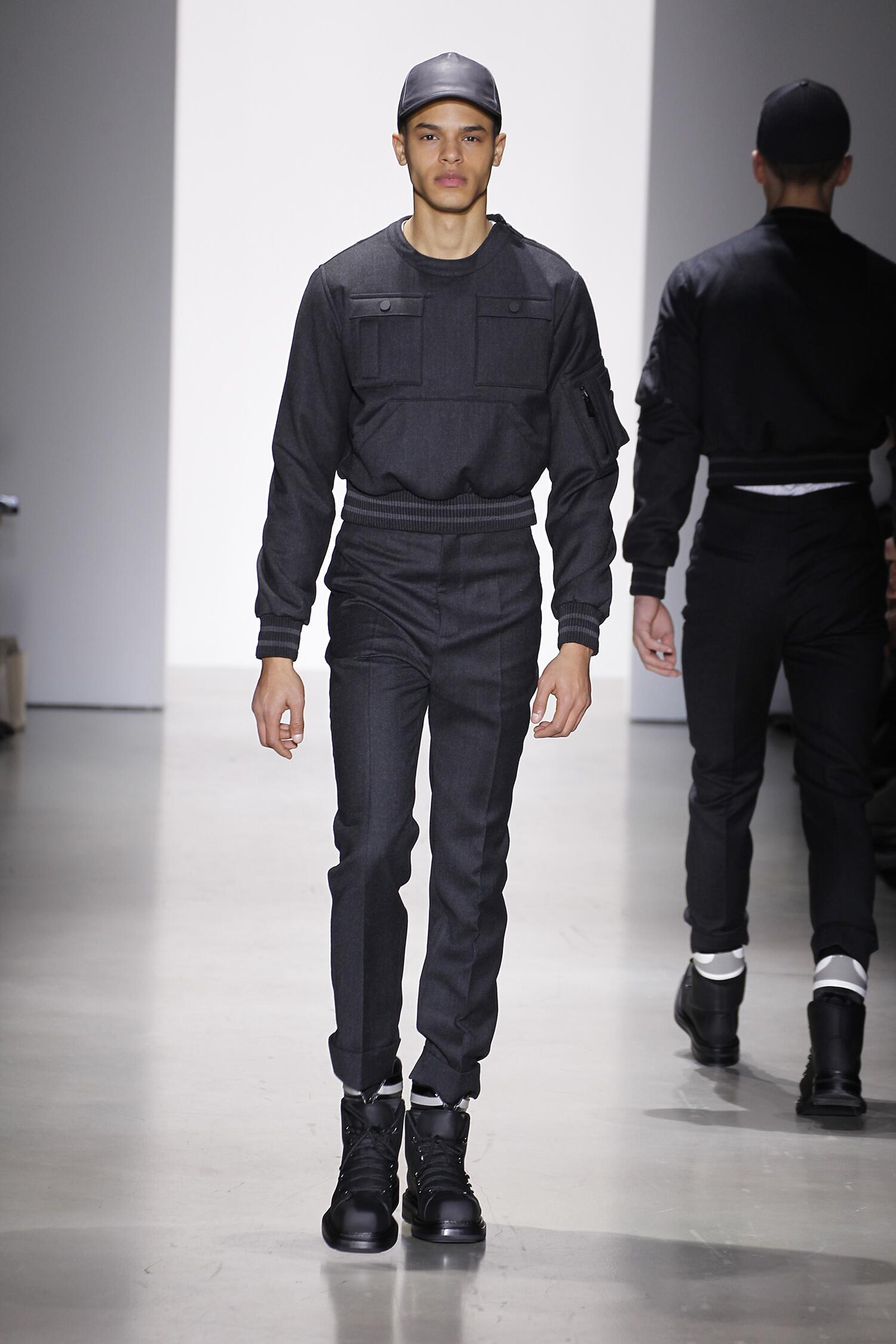 Winter 2015 Runway Calvin Klein
