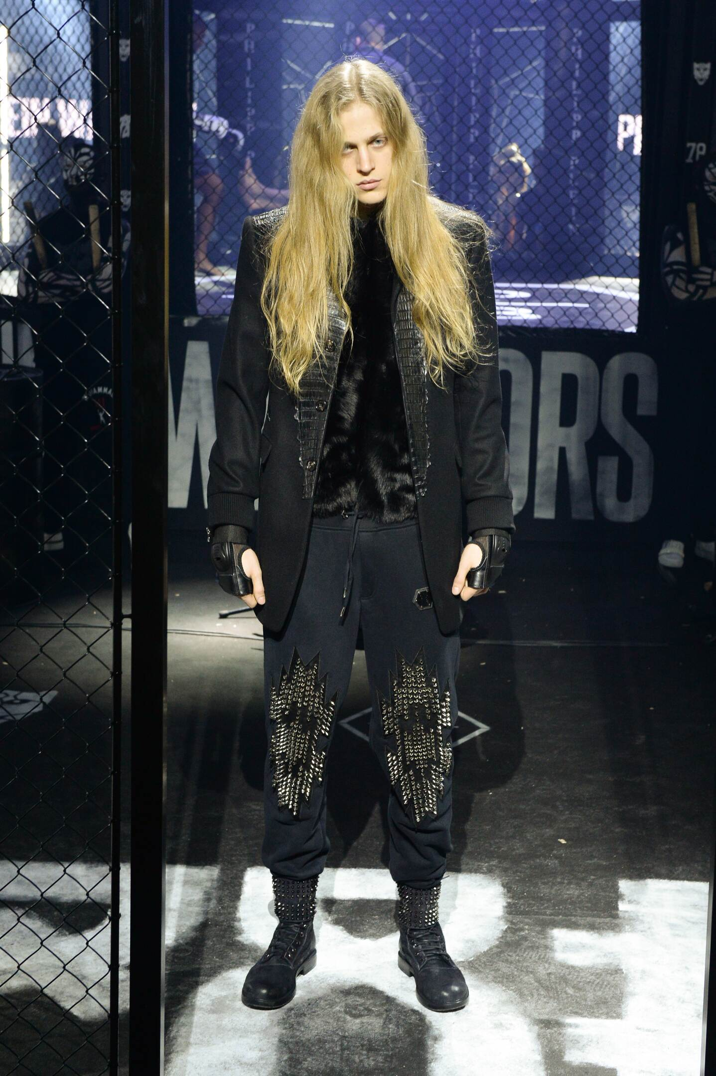 Winter 2015 Runway Philipp Plein
