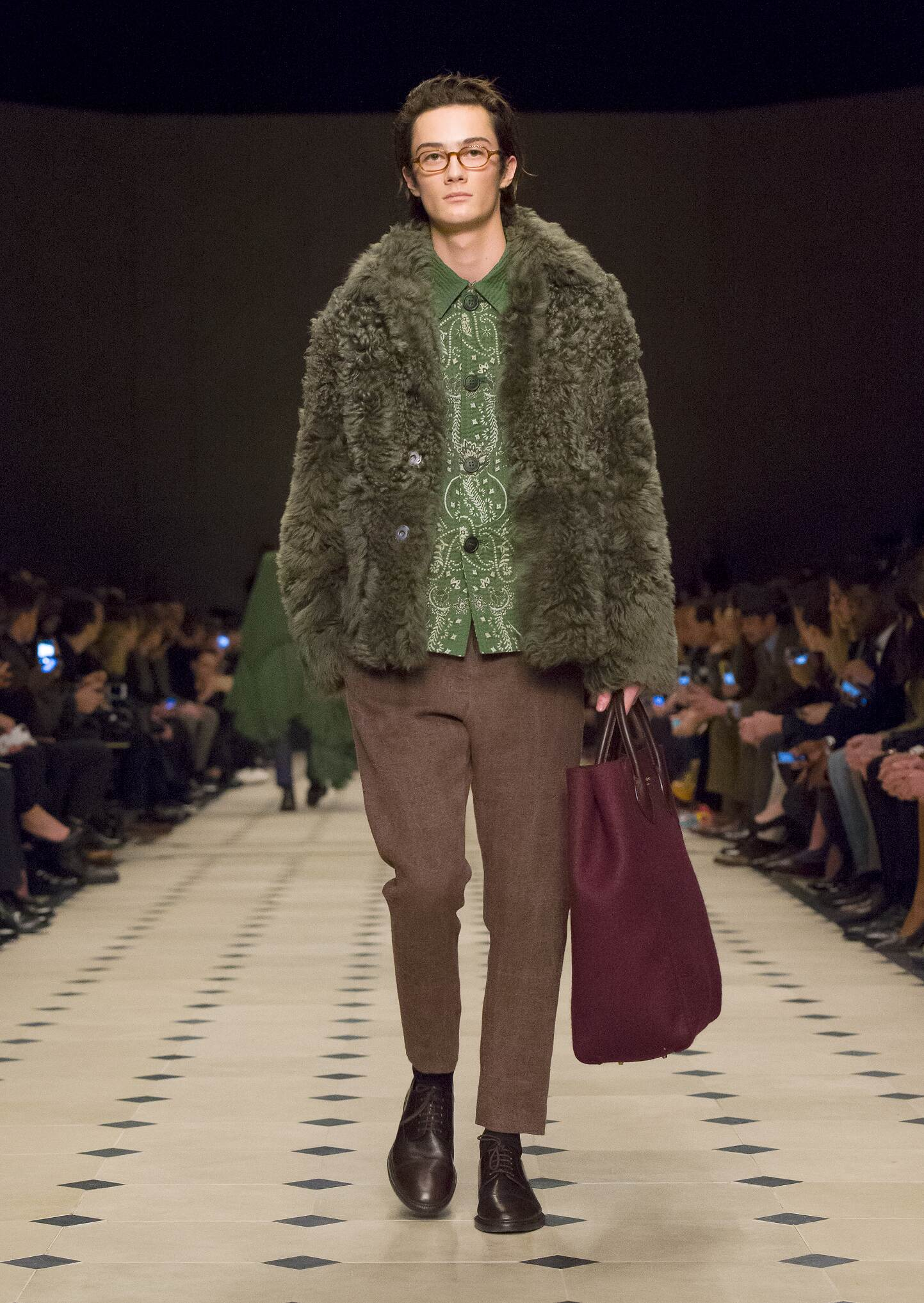 Winter Burberry Prorsum Trends 2015 Man