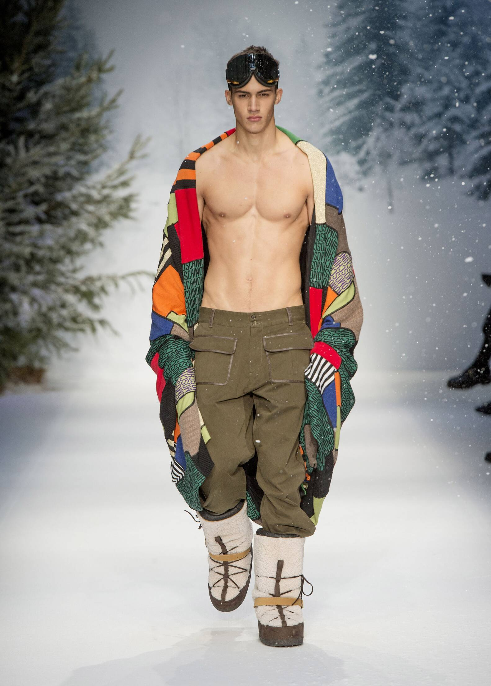 Winter Moschino Trends 2015 Man