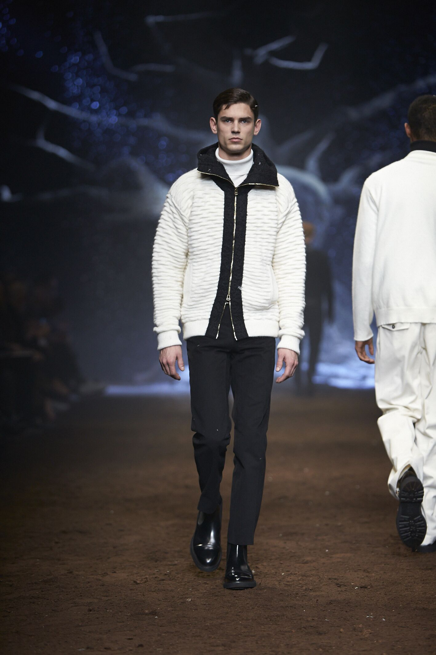 Winter Runway Corneliani Fashion Show 2015